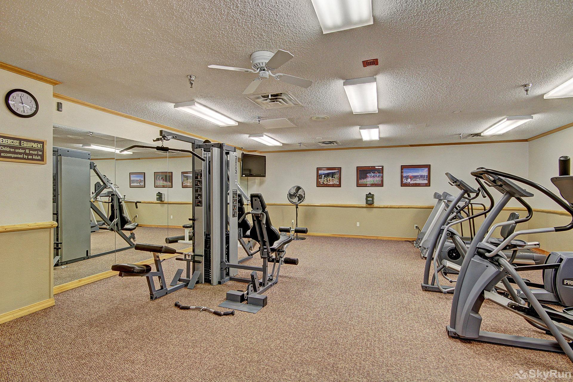 Village at Breck Studio 4323 Workout Facilities