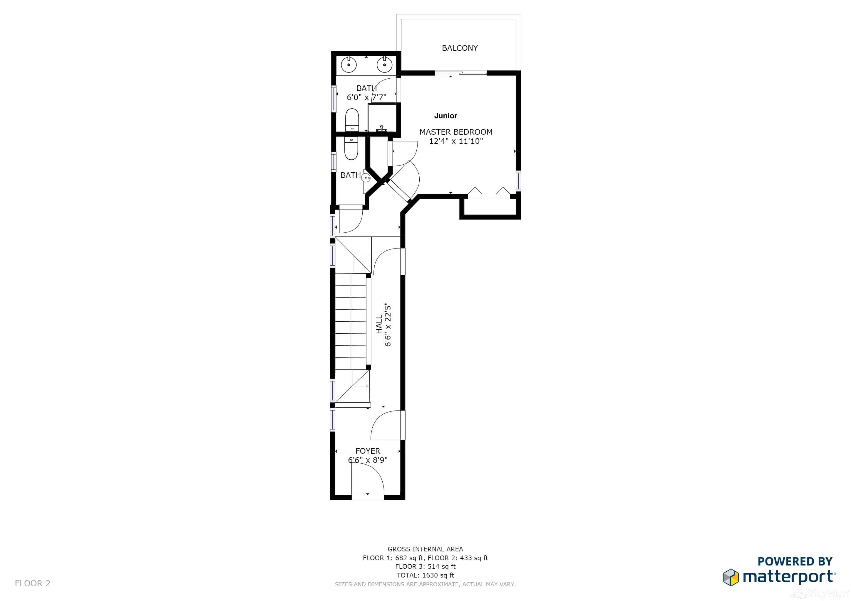 Old Town Lookout 1018L Floor Plan Main Level