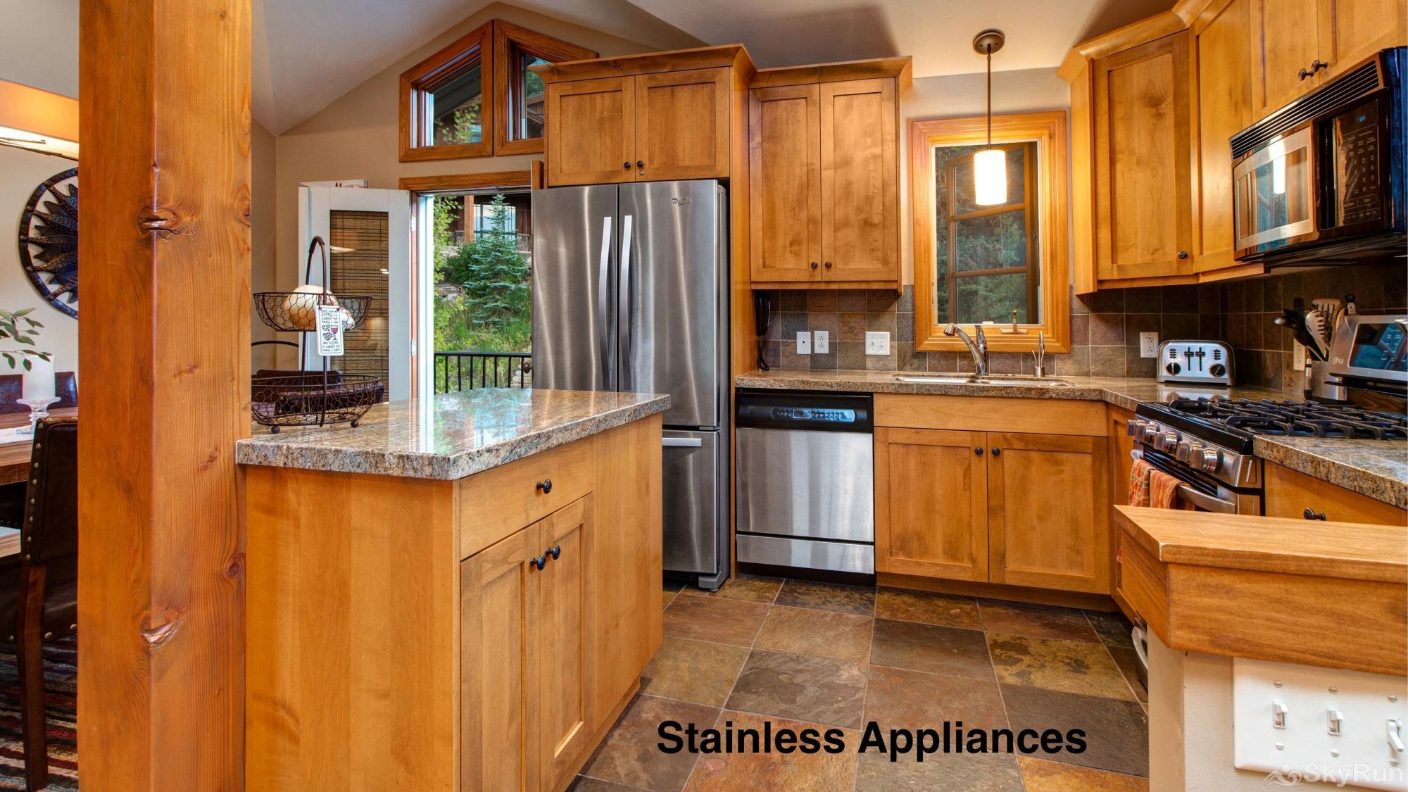 Old Town Lookout 1018L Stainless Appliances
