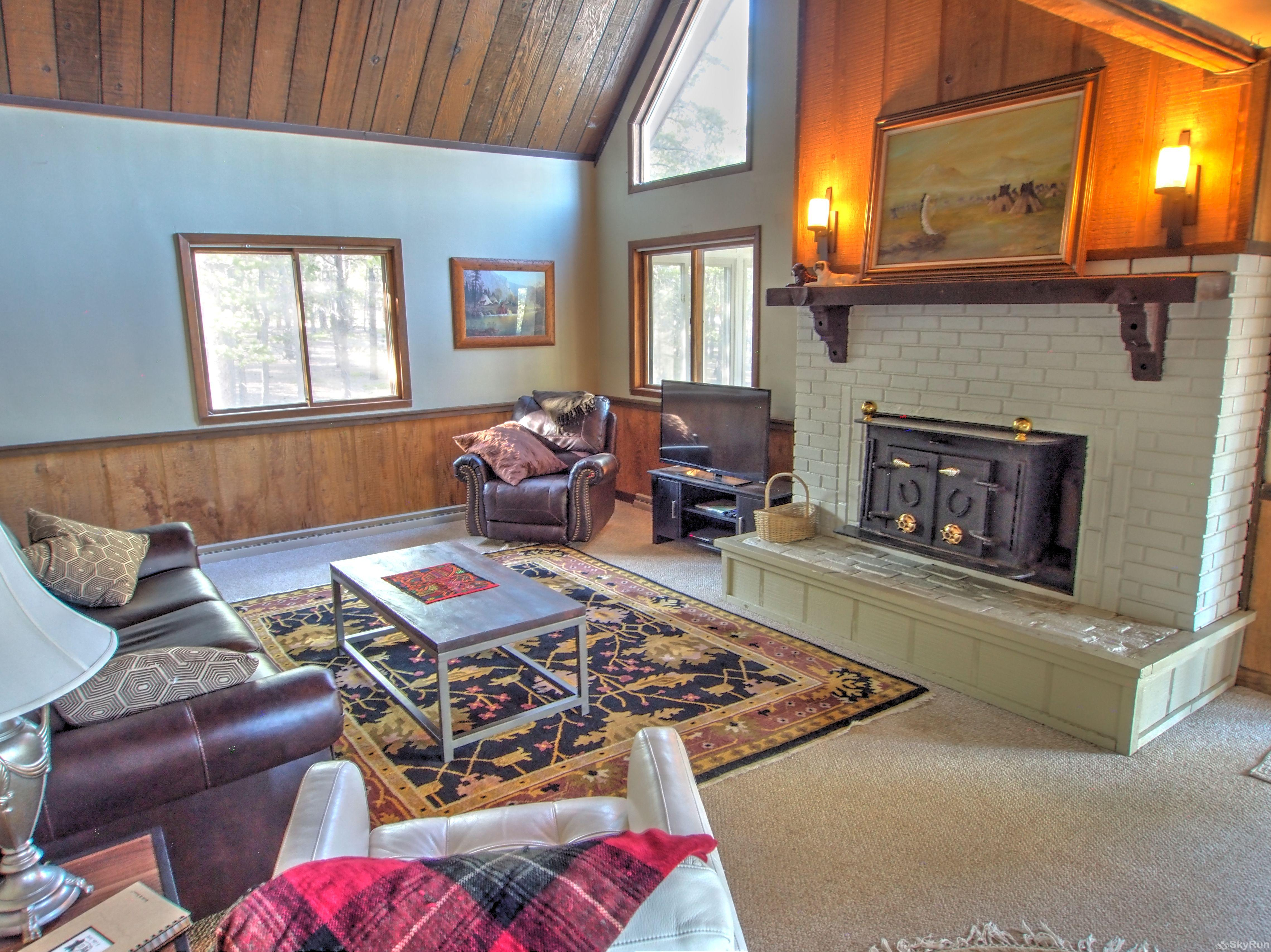 Dory Lakes Cabin Living Area