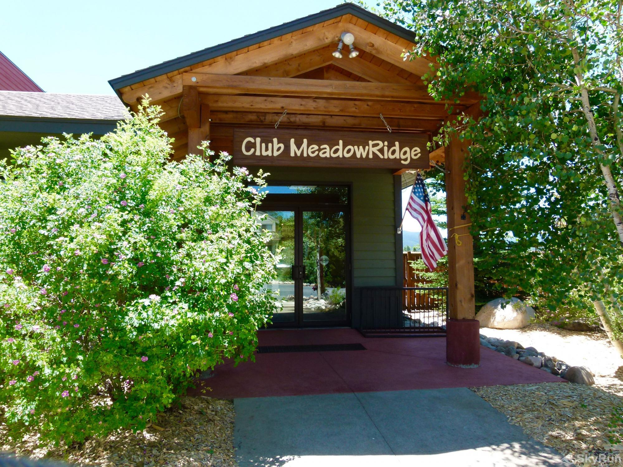 Meadow Ridge Court 12 Unit 12 Clubhouse Entry