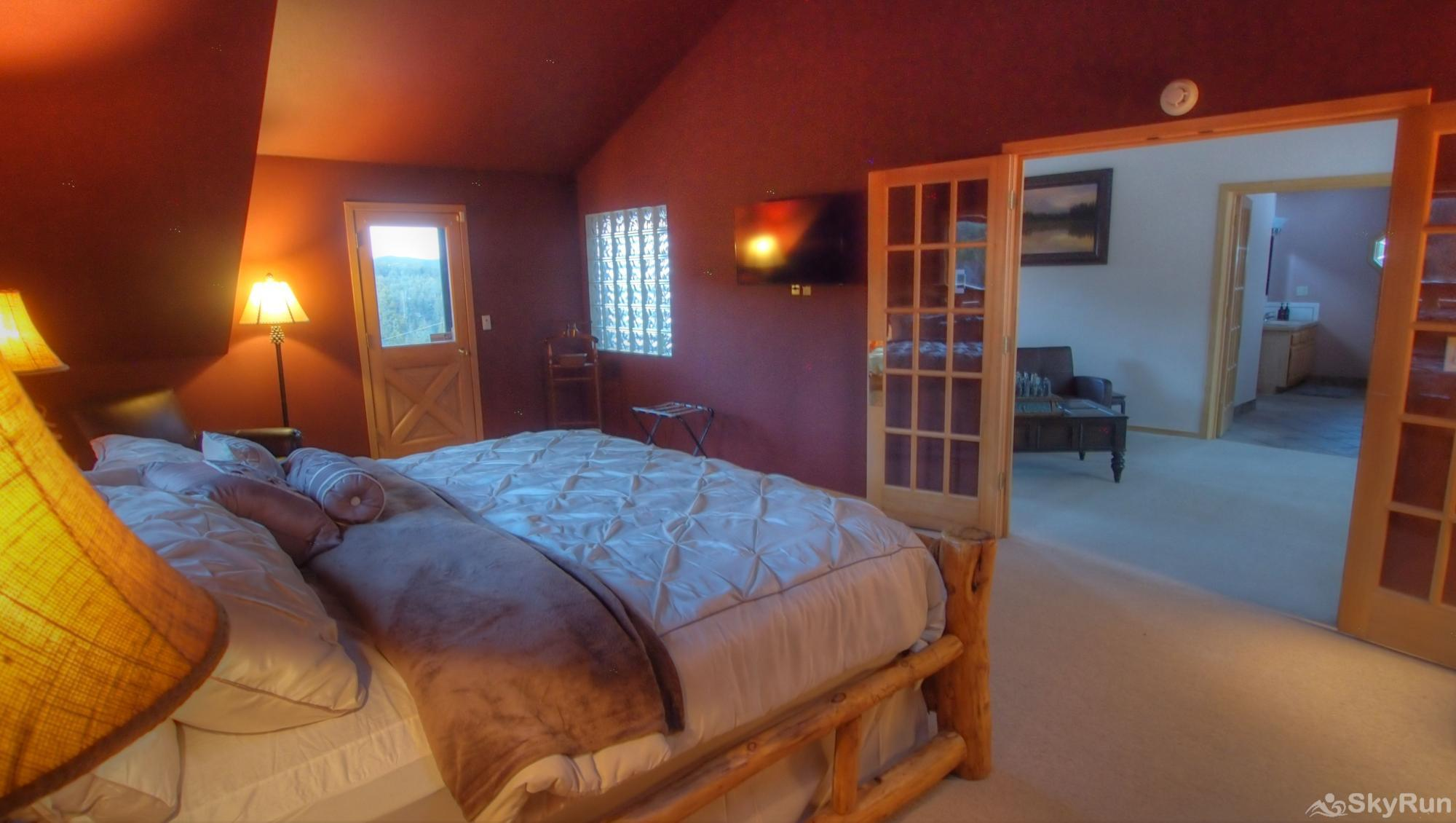 Indian Peaks Lodge Master Bedroom