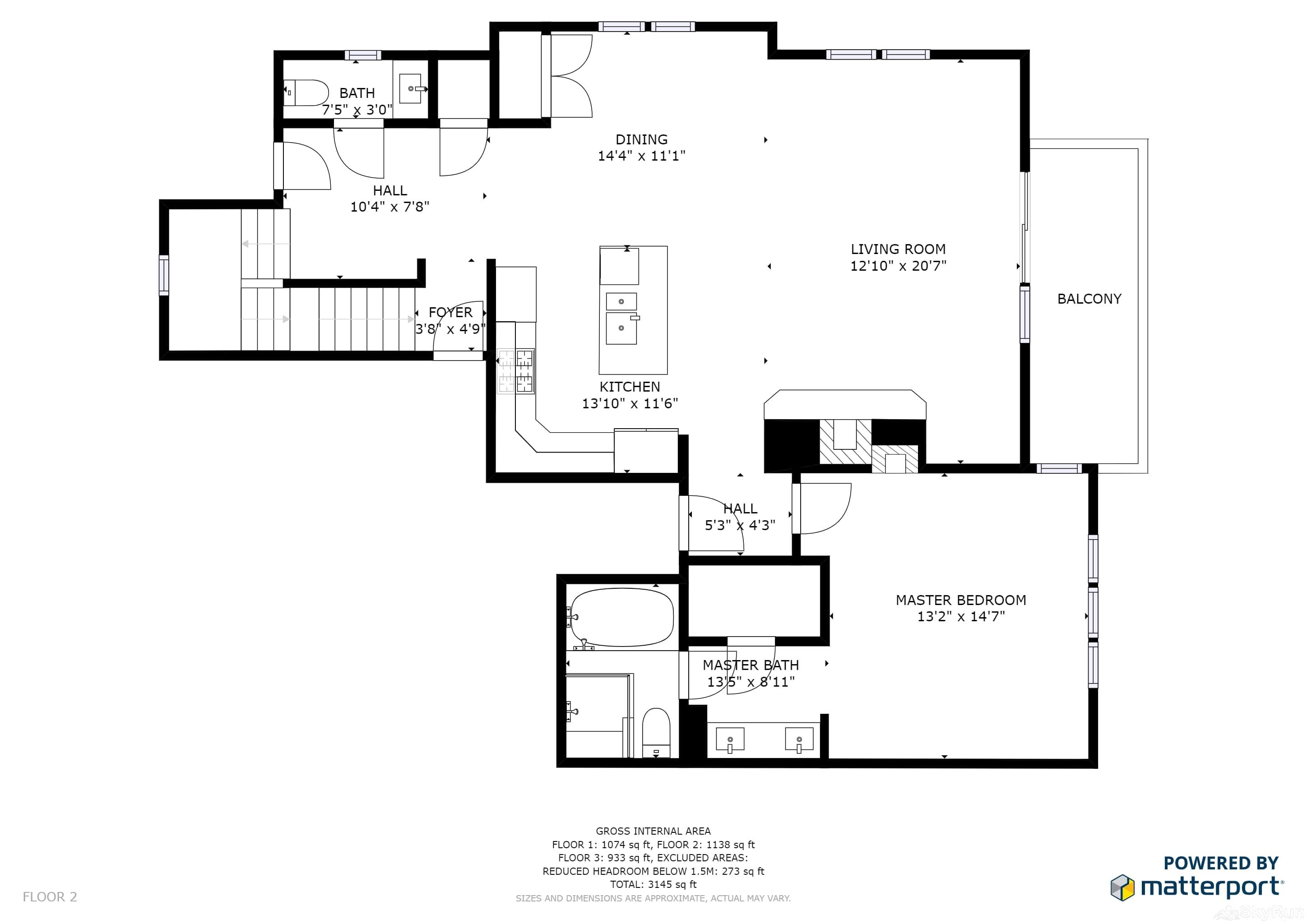 Mountain Home Retreat 1235H Floor Plan Main Level