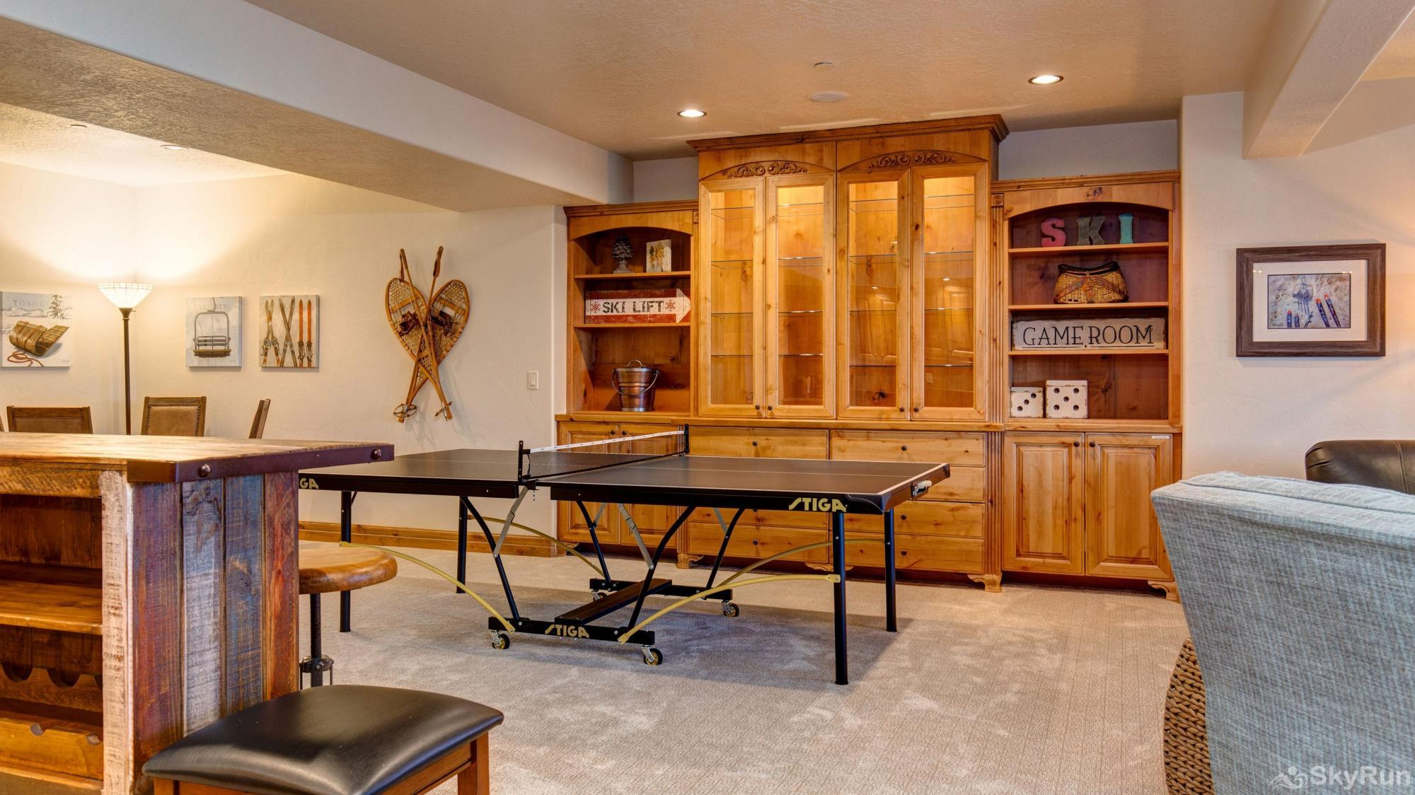 Mountain Home Retreat 1235H Game Room