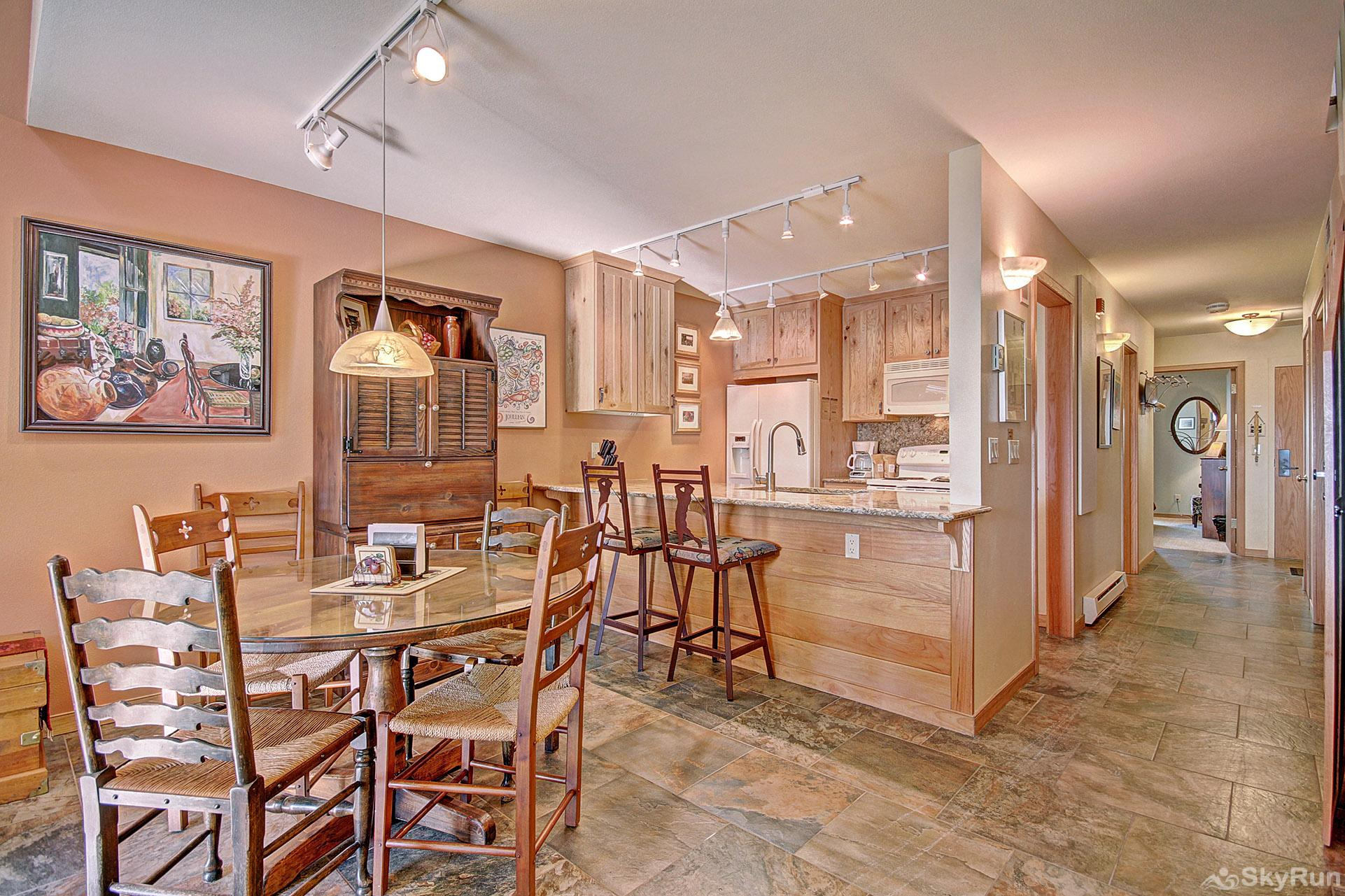 413 Ski Run Dining Room and Kitchen