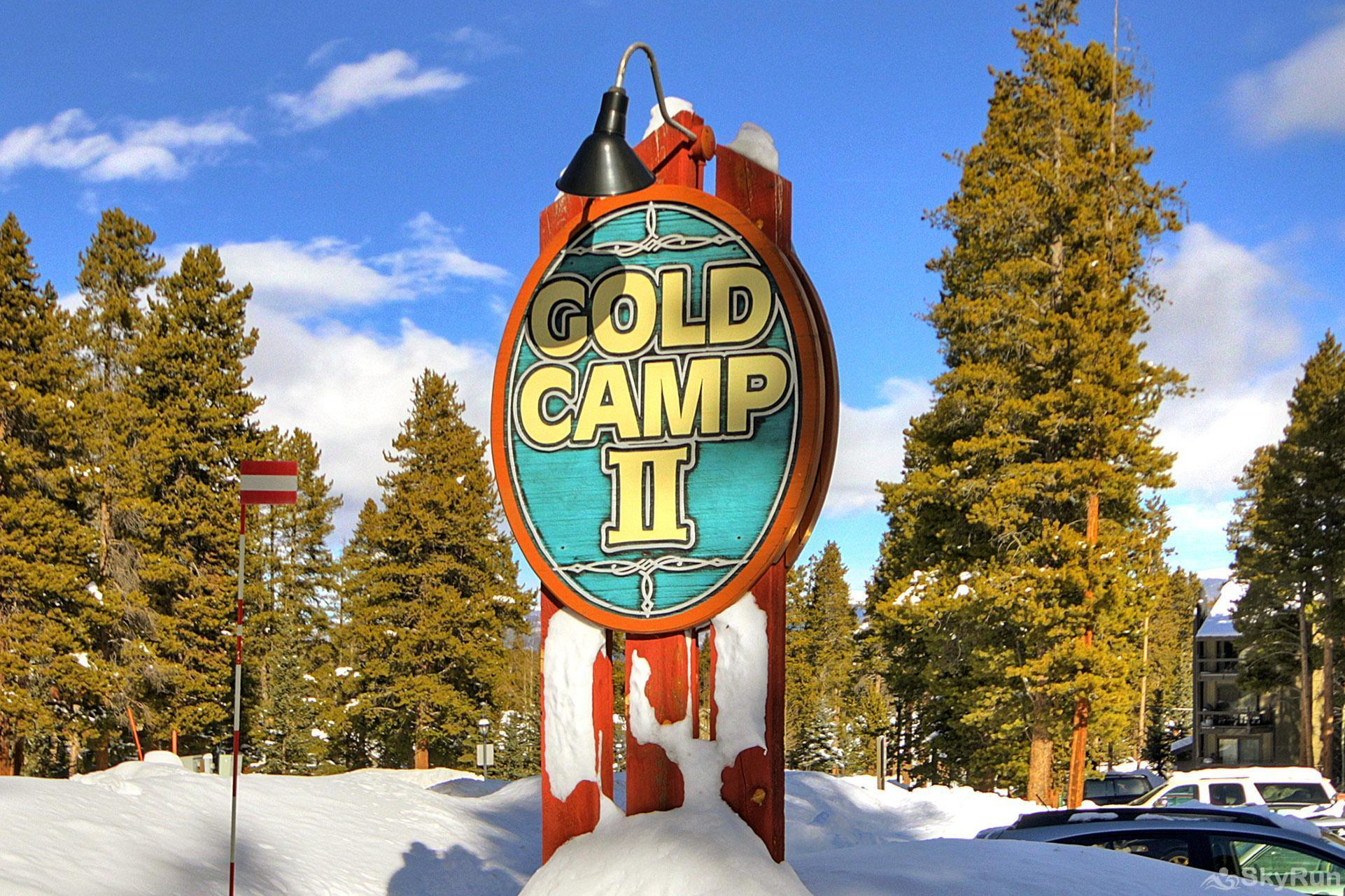 Gold Camp I131 Gold Camp Sign