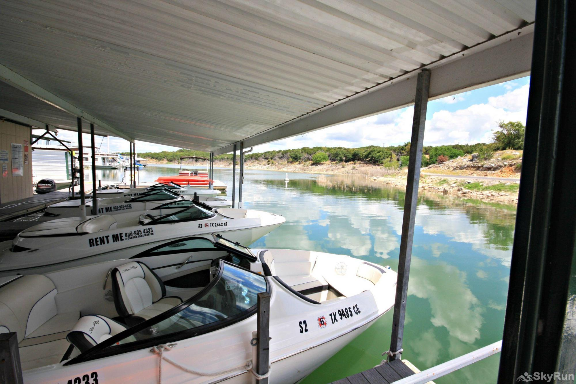 CASA DE SUENA Boat and Jet Ski Rentals at Canyon Lake Marina