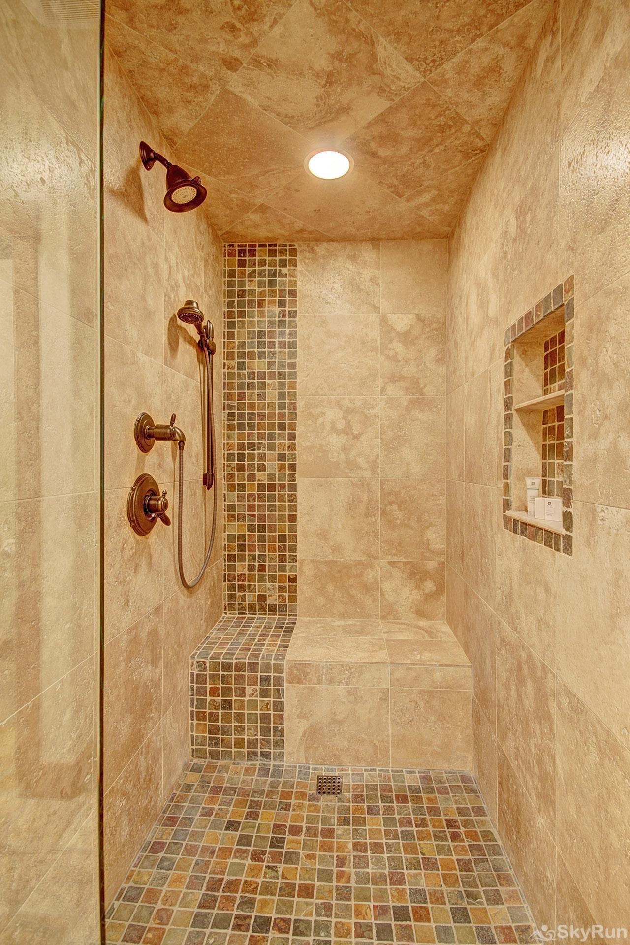 Casa de Plata Master Bathroom Shower
