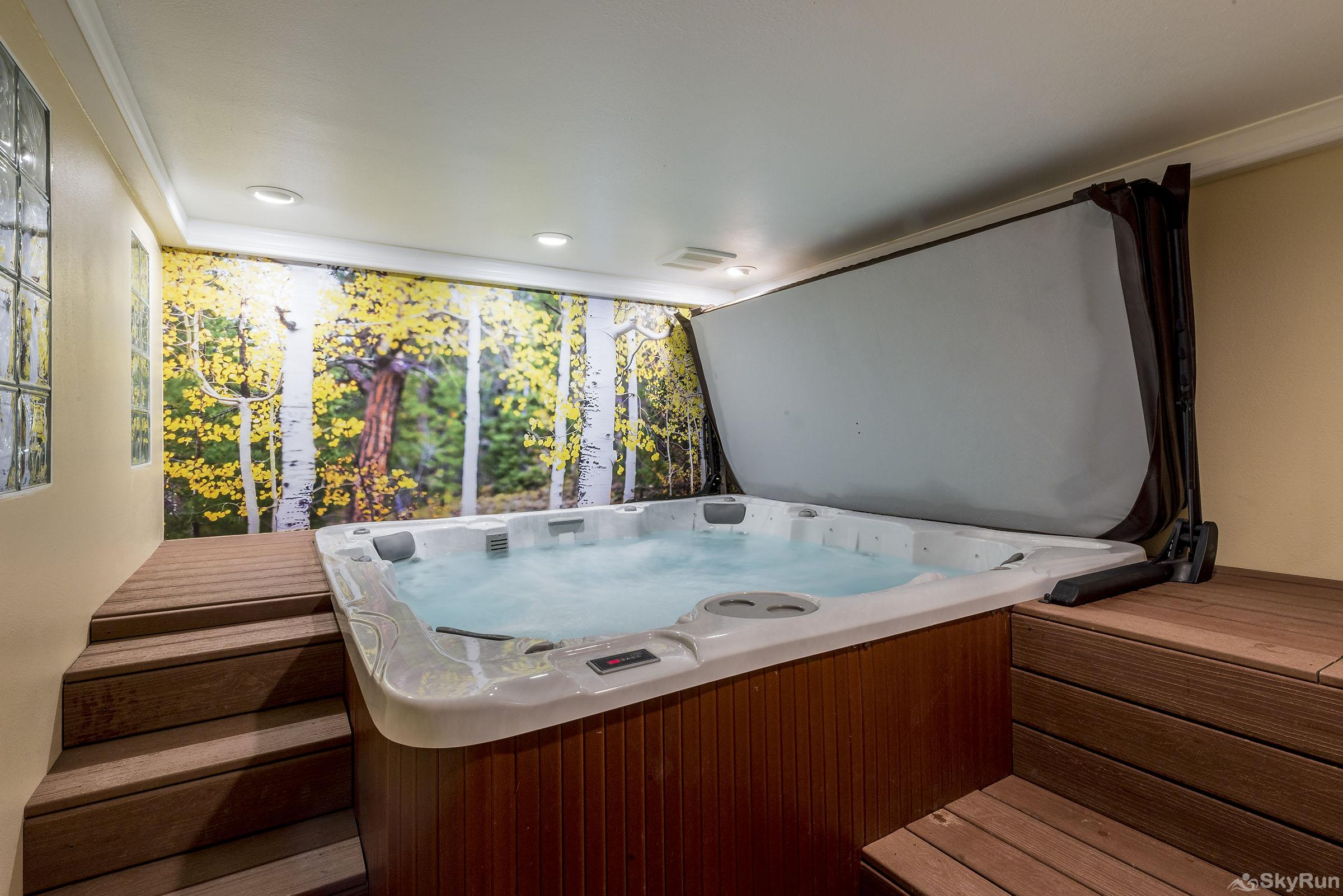 Waterford 10 Enjoy this brand new 8ft indoor hot tub.