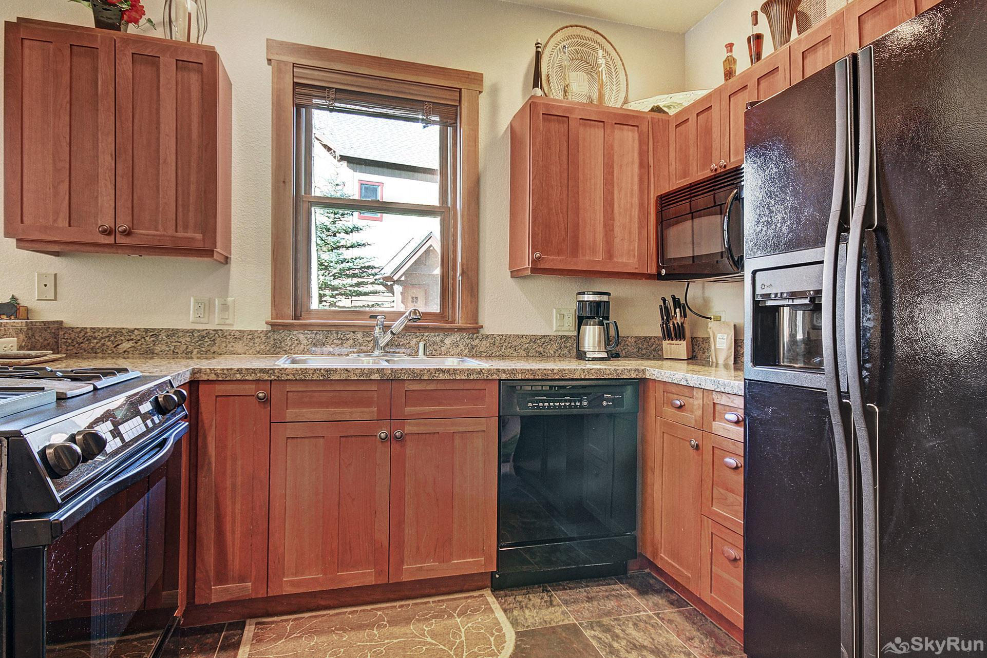 2345 Red Hawk Townhome Kitchen