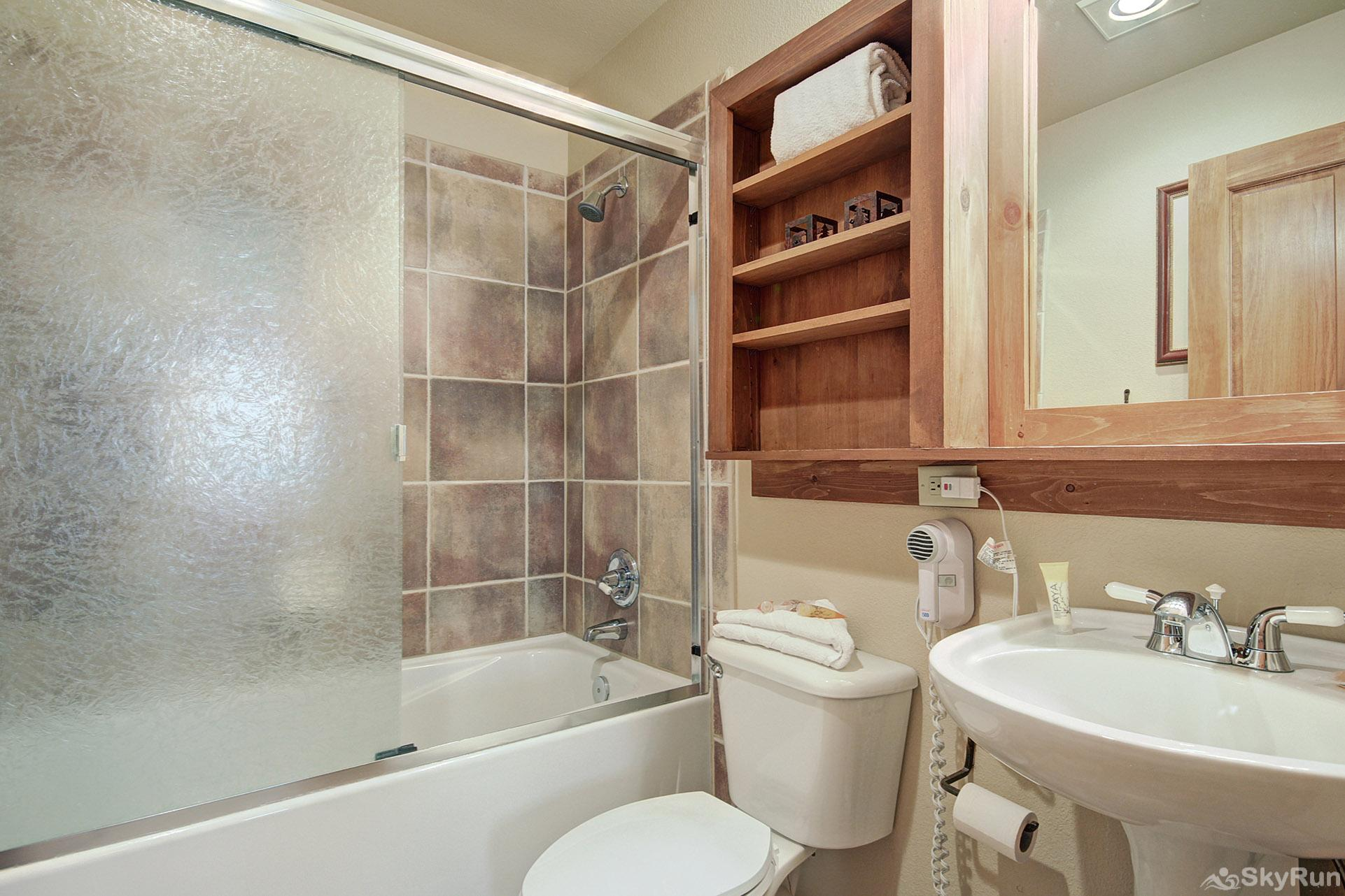 2345 Red Hawk Townhome Hall Bathroom