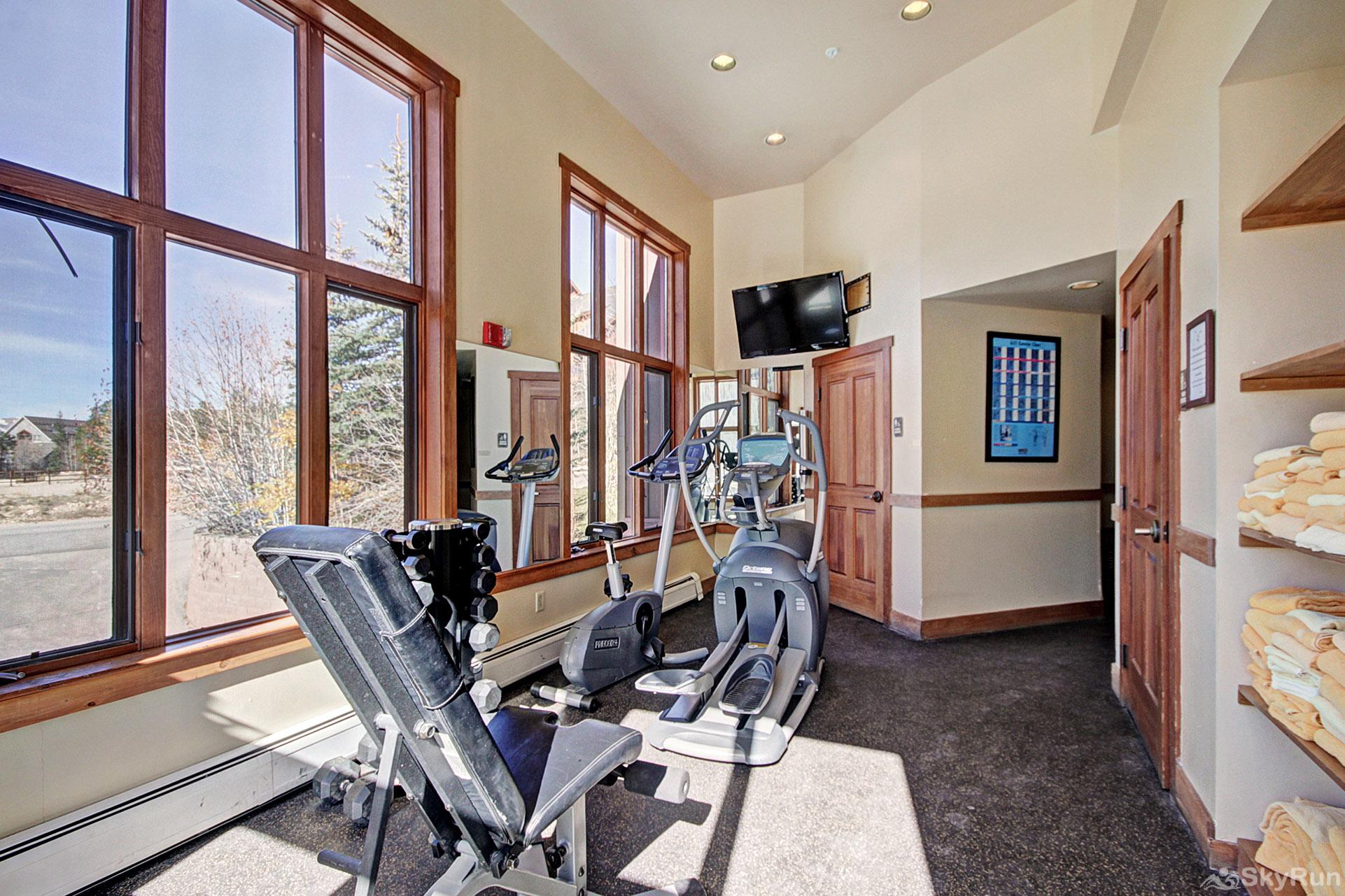 2345 Red Hawk Townhome Fitness Room