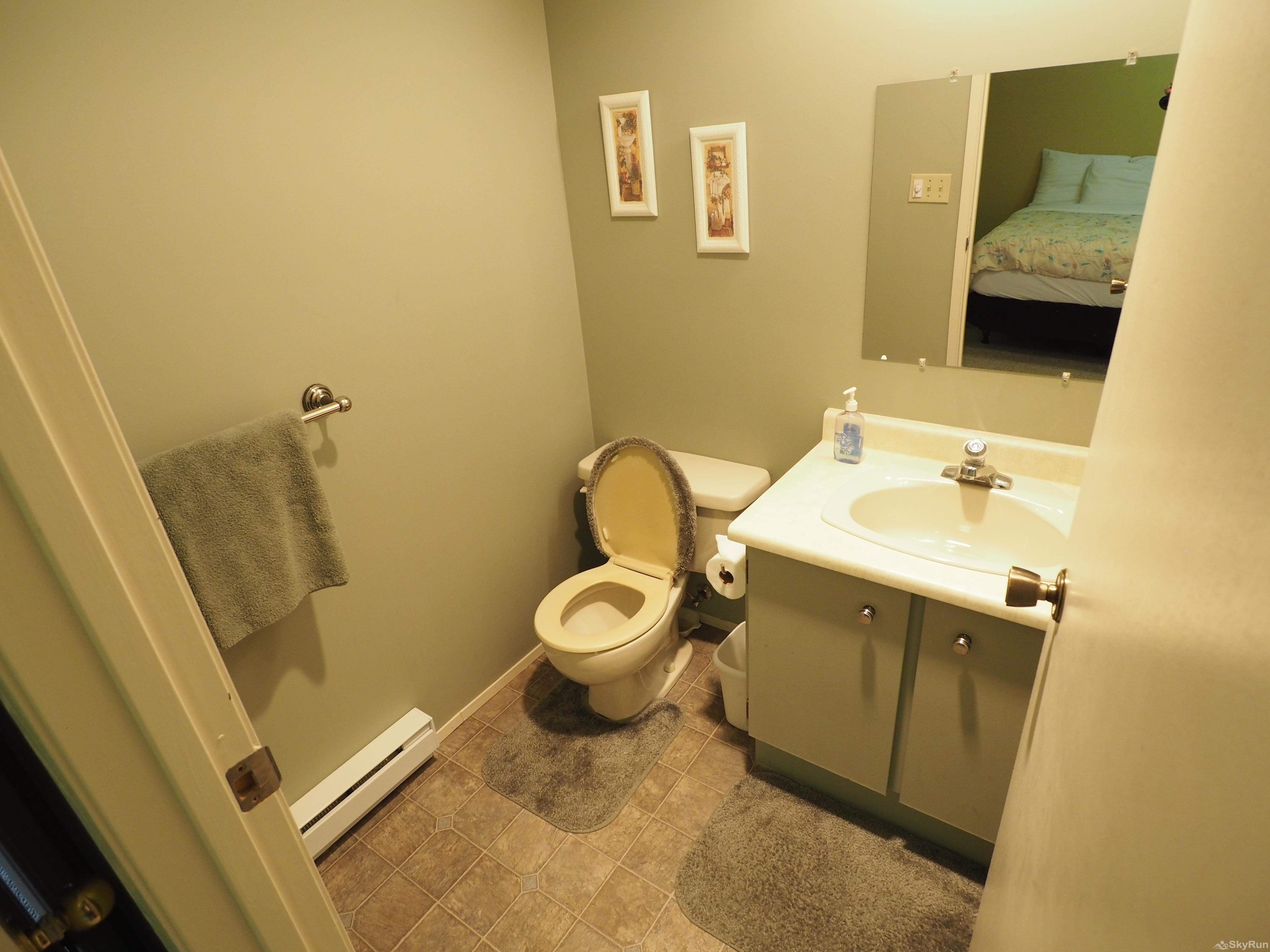 Strayhorse Condo 100 Ensuite bathroom