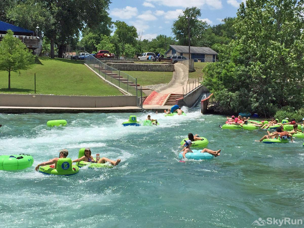BLUE SKY HAVEN Comal River Tube Chute in Nearby New Braunfels