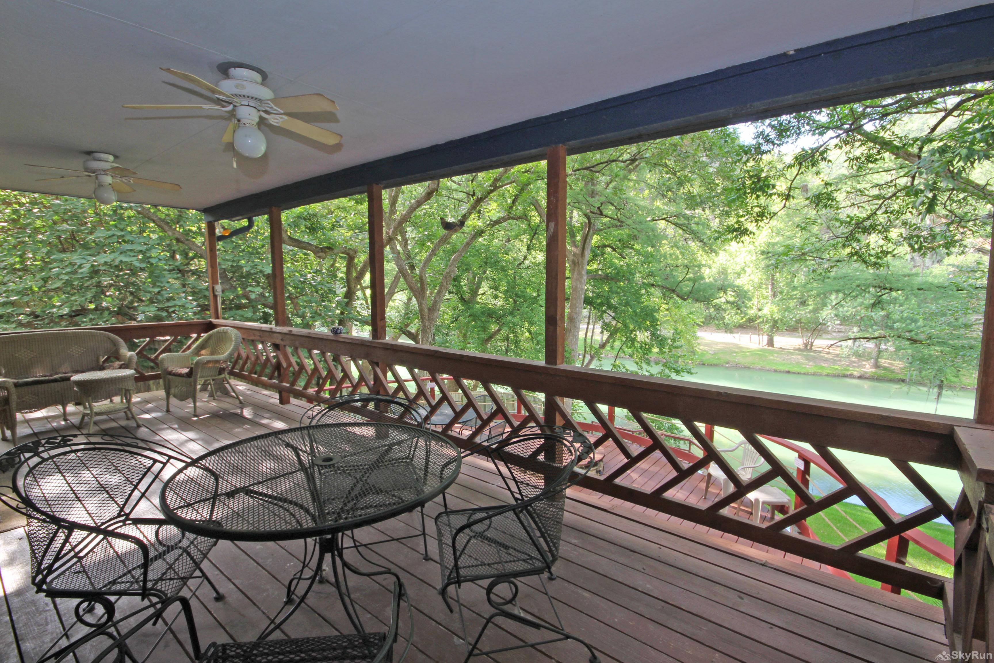 PONDEROSA PARADISE Covered Deck Area