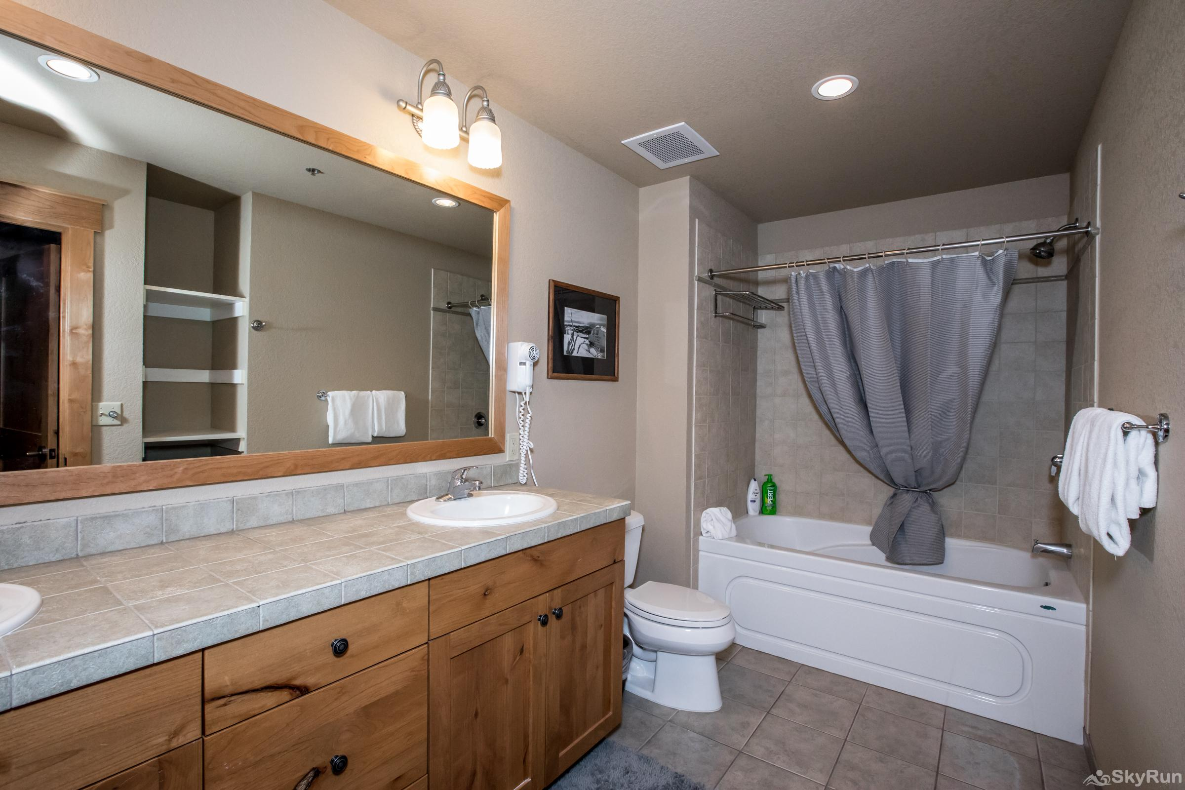 Morning Eagle 411 Third Full Bath with Double Vanity