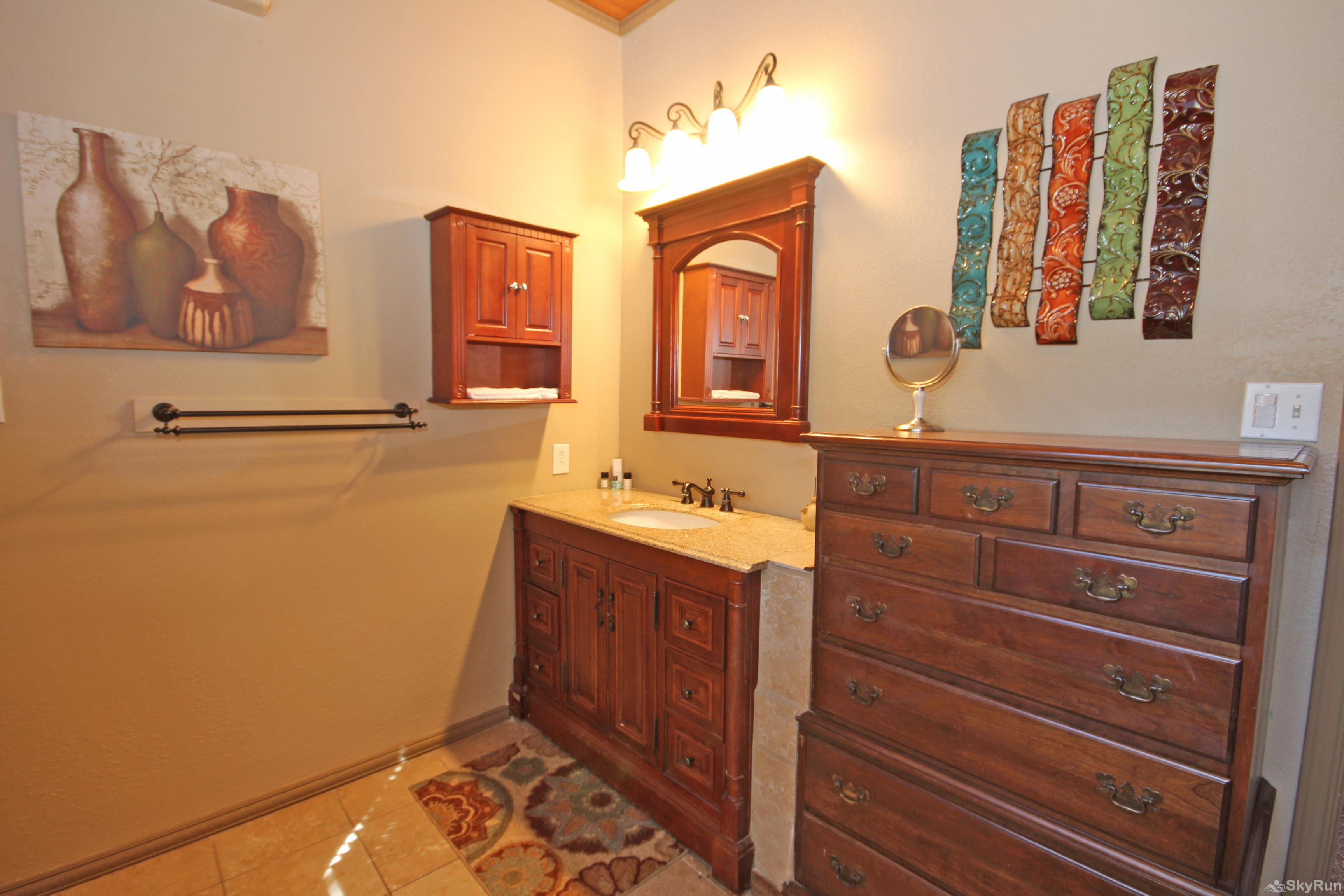 PLAYA DEL SOL Master Bath with Walk-in Shower