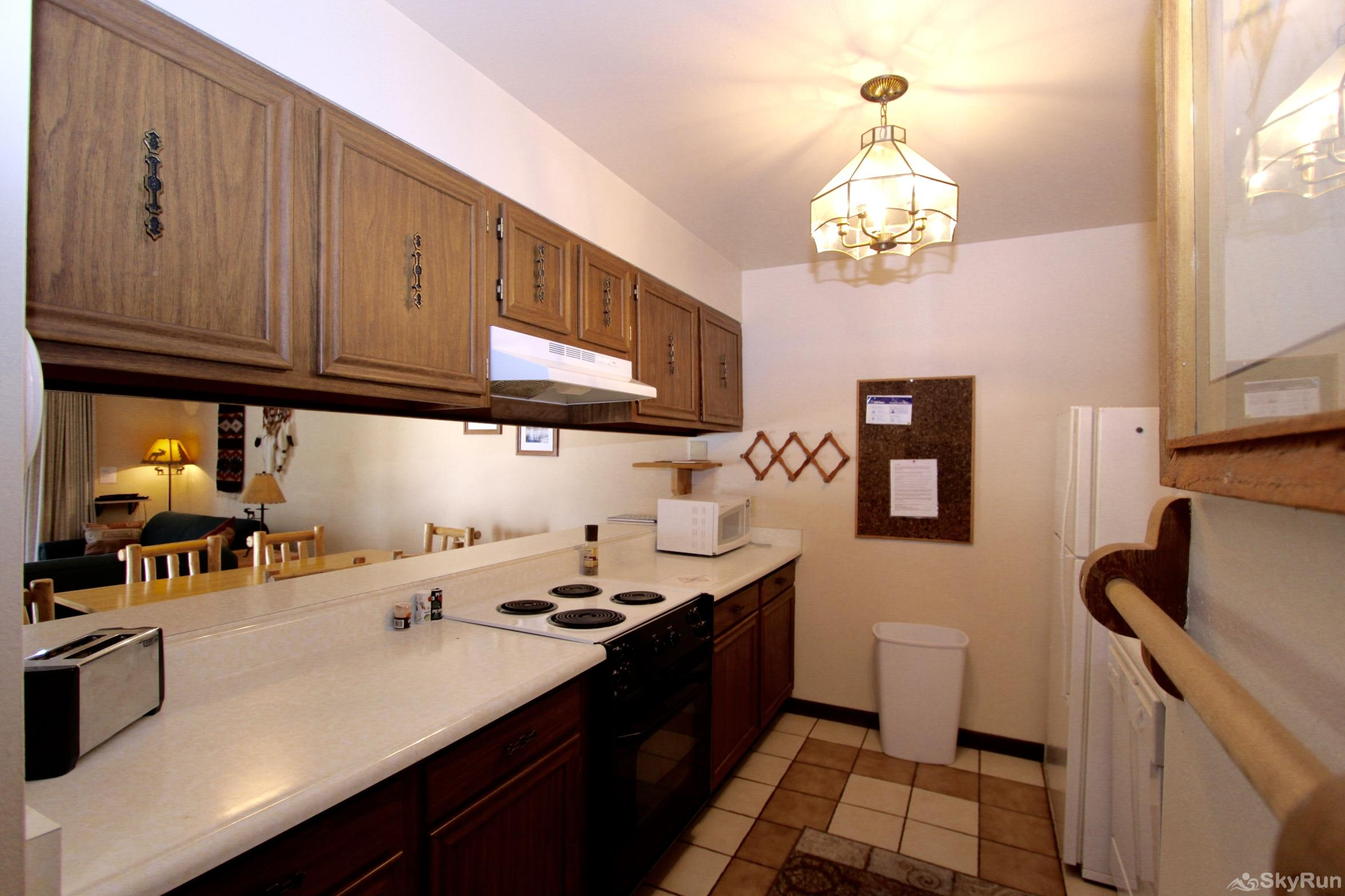Meadow Ridge Court 5 Unit 3 Galley Kitchen straight from the 90s!