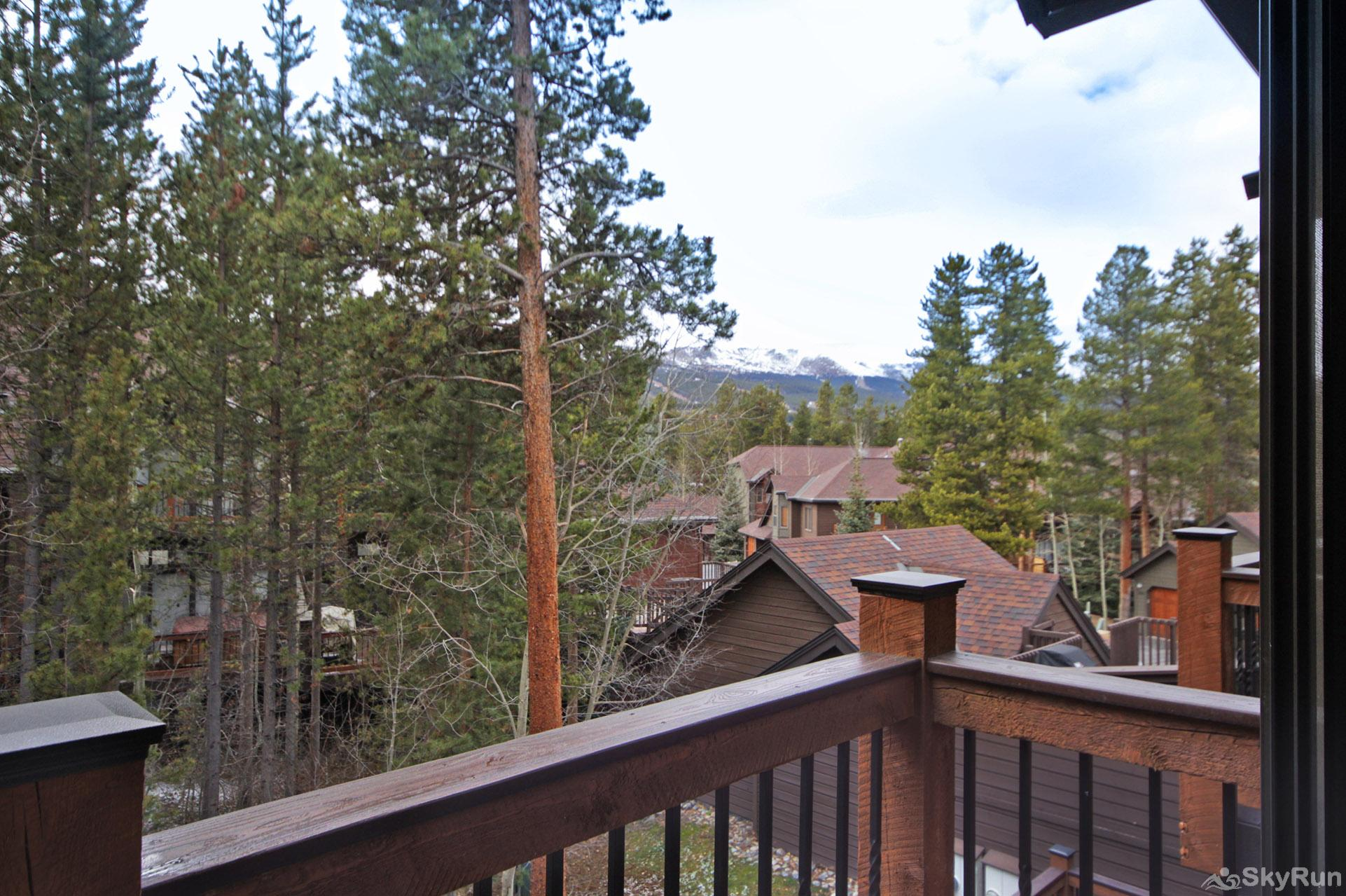 Village Point 303 Enjoy scenic views of Breckenridge from your balcony