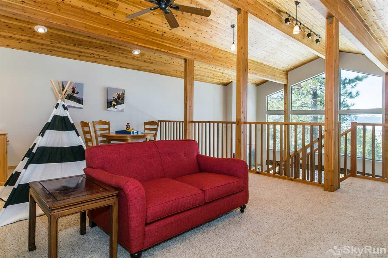 Northstar Conifer Luxury Home Loft/Other Sleeping Area (upper level)