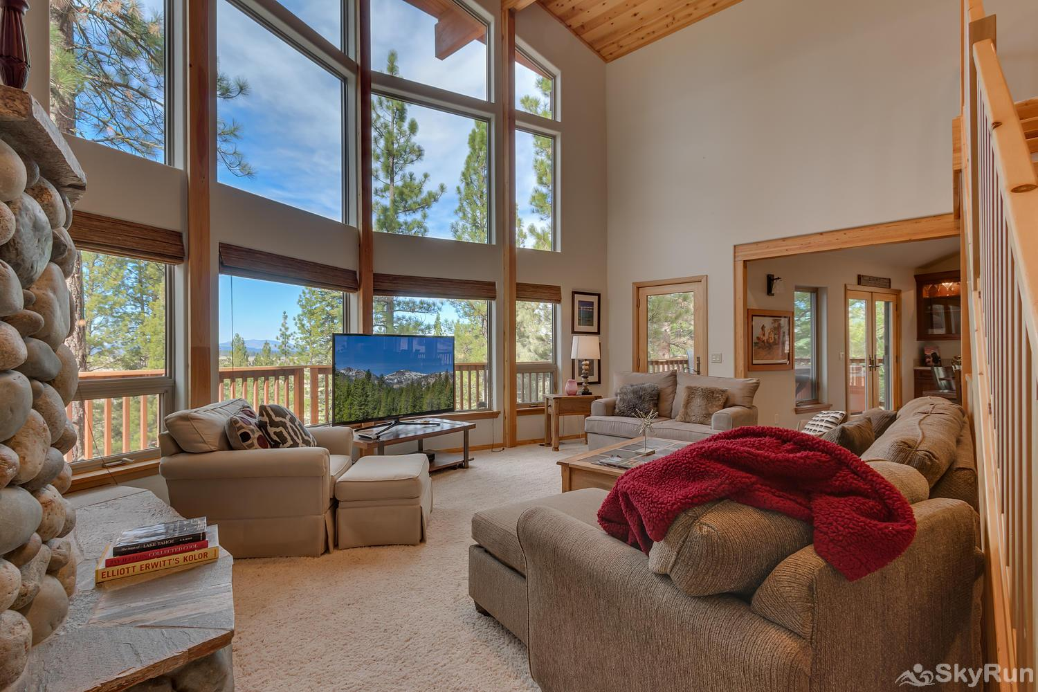 Northstar Conifer Luxury Home Living Room