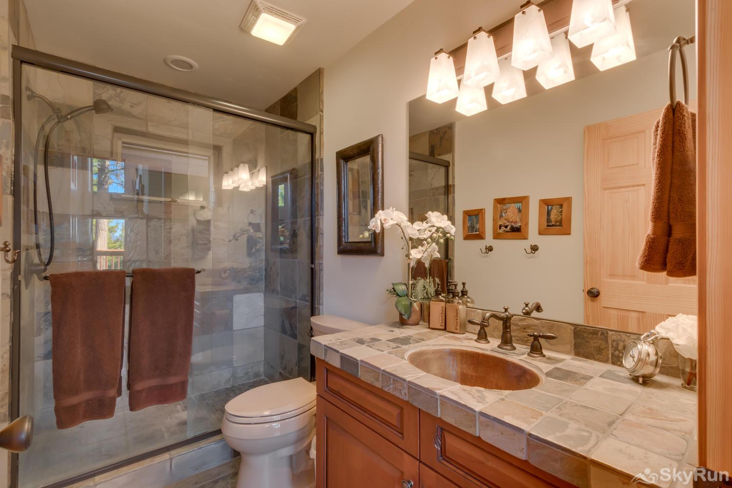Northstar Conifer Luxury Home Guest Bathroom (main level)