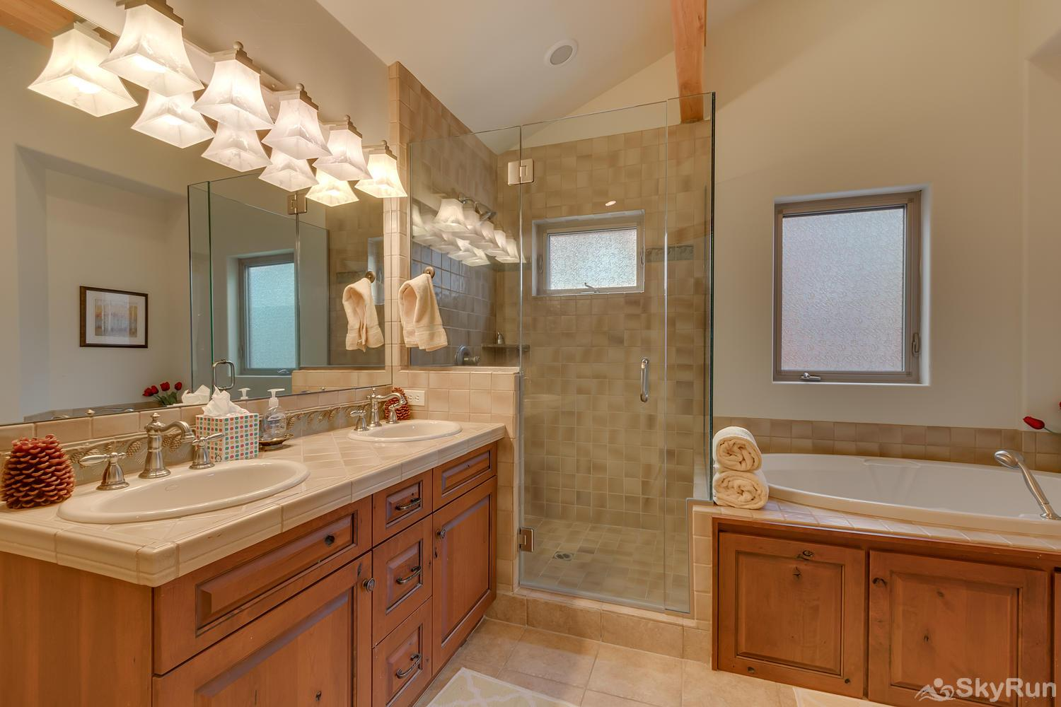 Northstar Conifer Luxury Home Master Bath 1
