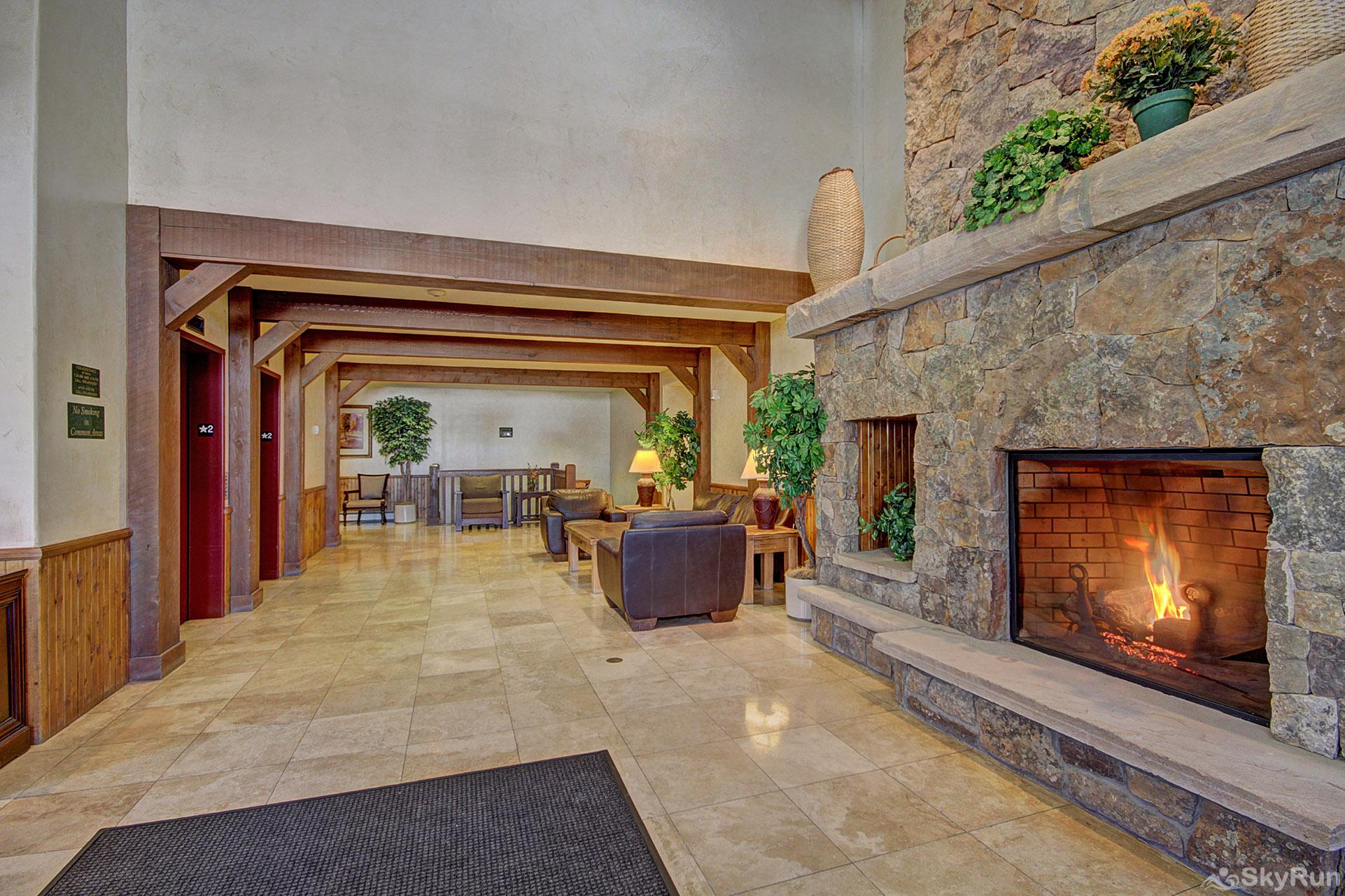 Highland Greens Lodge 211 Highland Greens Lodge lobby features a gas fireplace, making you feel at home as soon as you walk in!