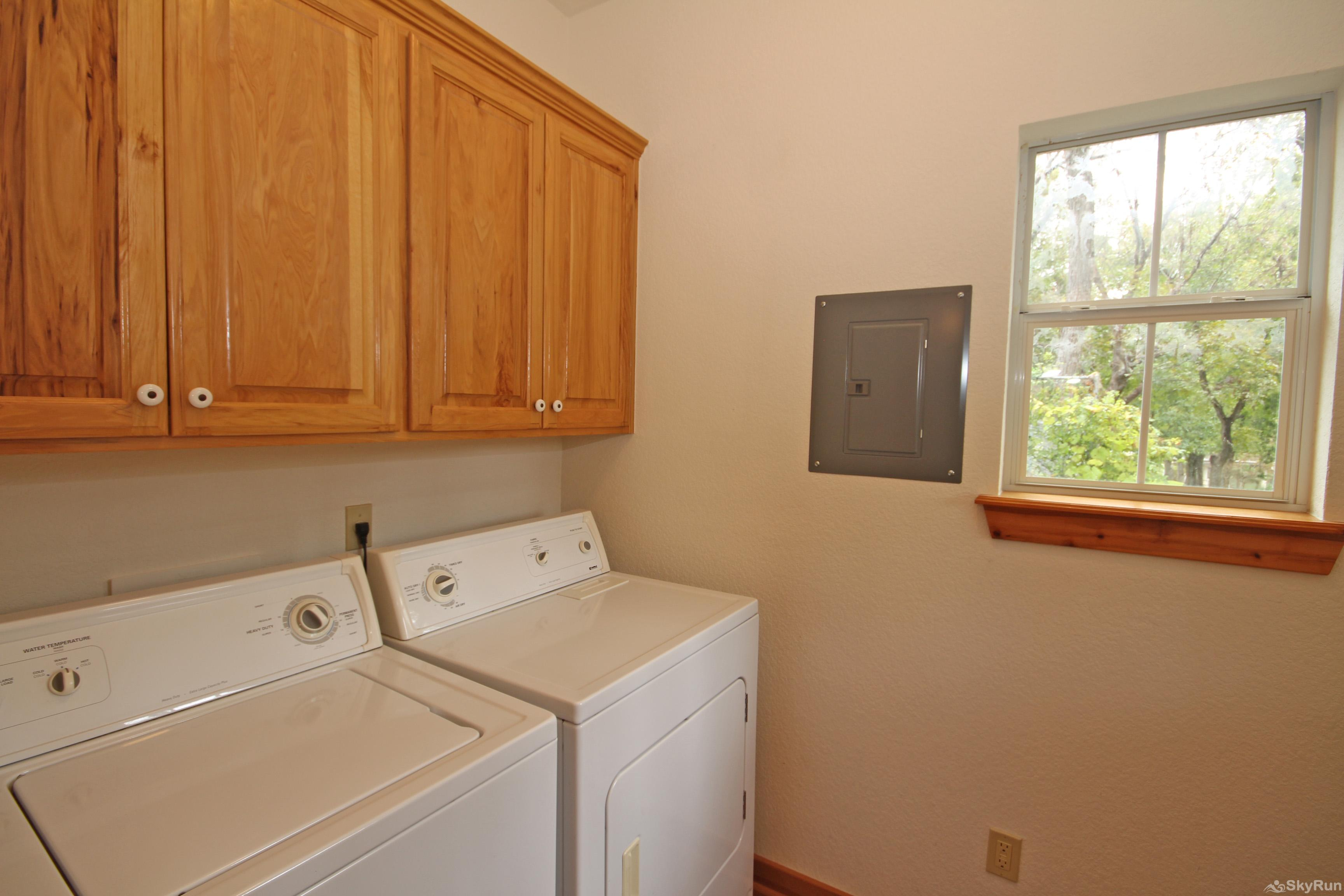 MARICOPA RIVER RESORT Washer and Dryer Available for Guest Use