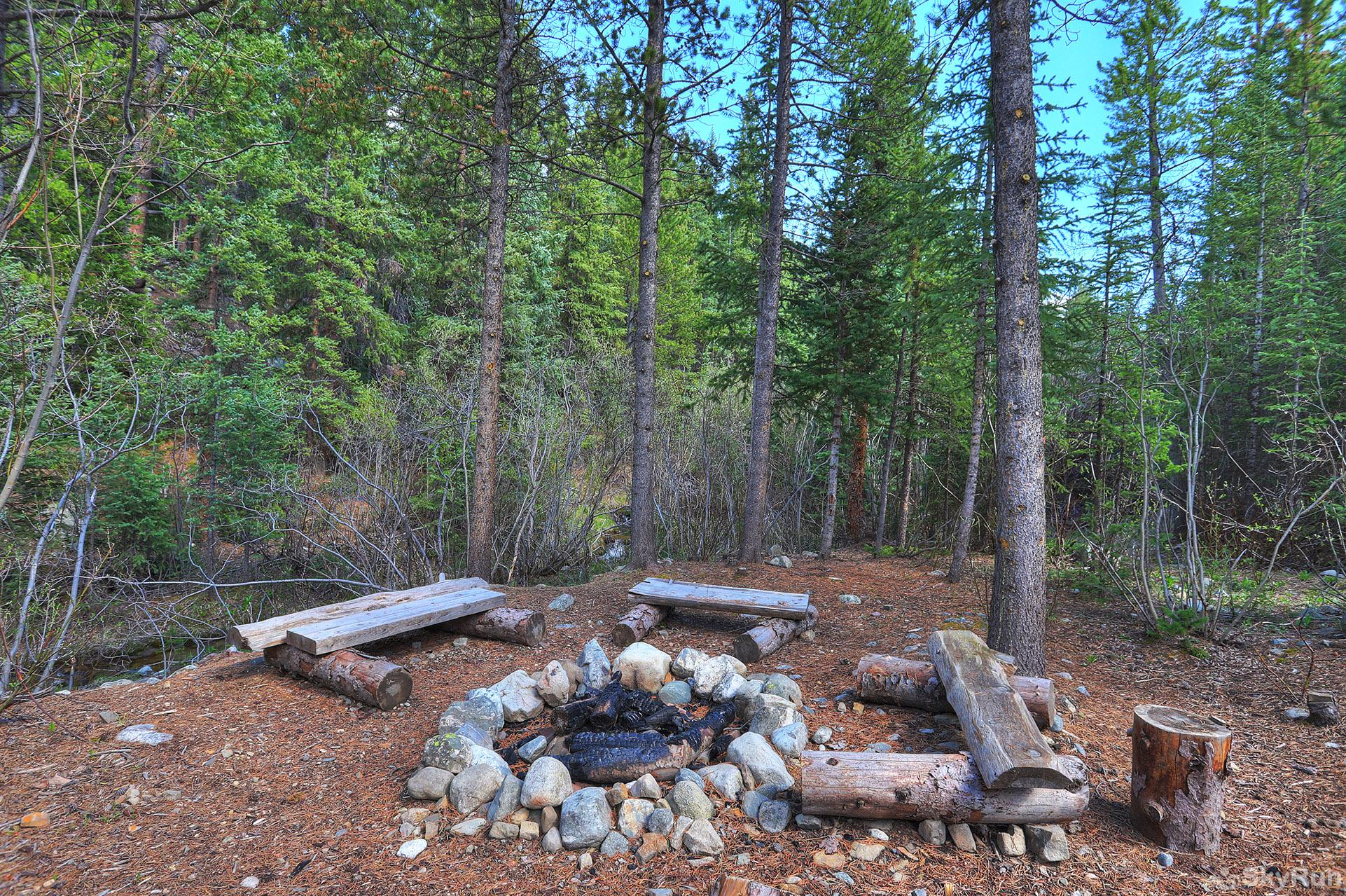 Twin Creek Lodge Outdoor fire pit is unavailable for use in winter and during fire restrictions