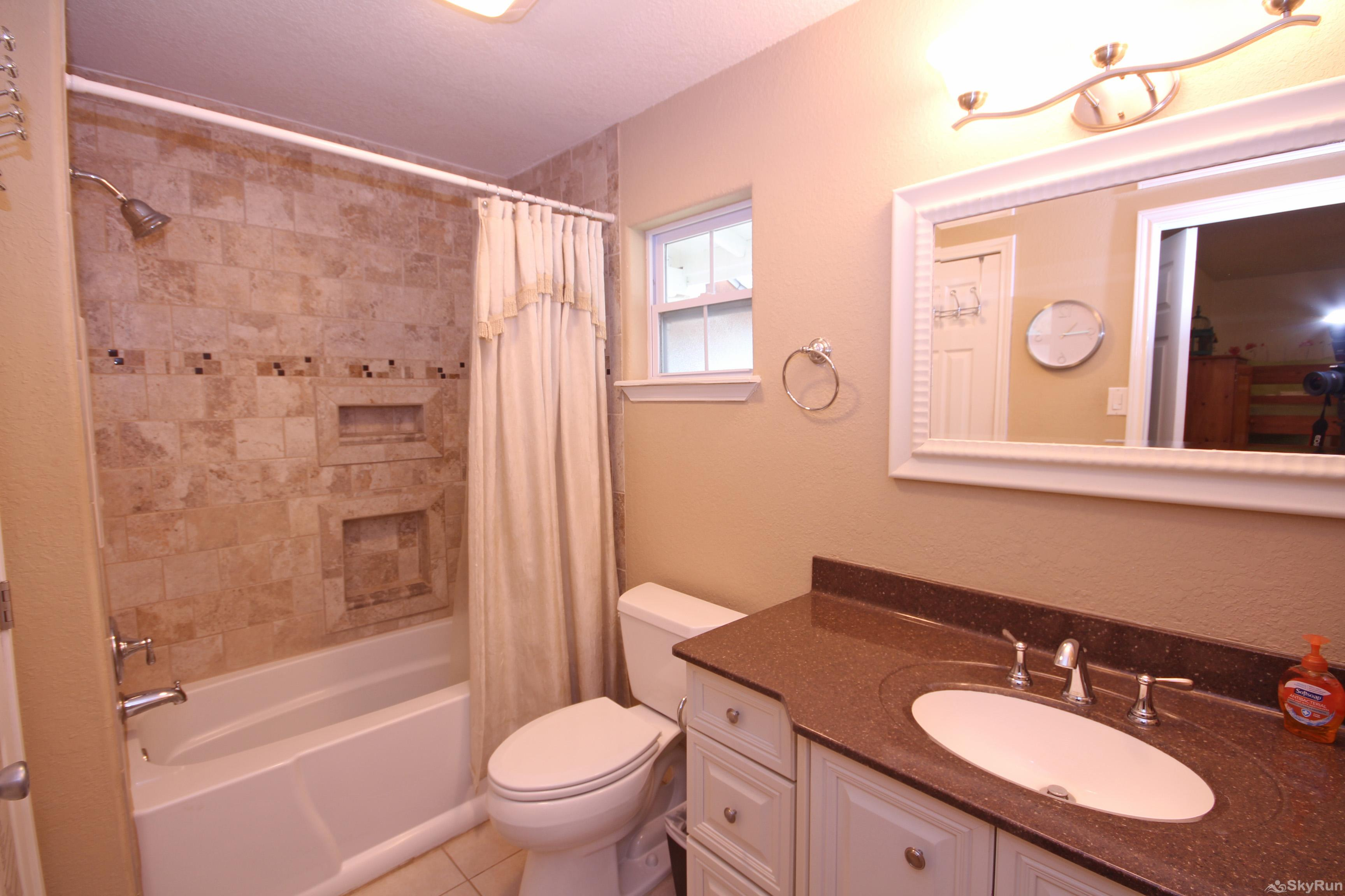 STAR OF TEXAS First Full Bathroom with Shower/Tub Combo