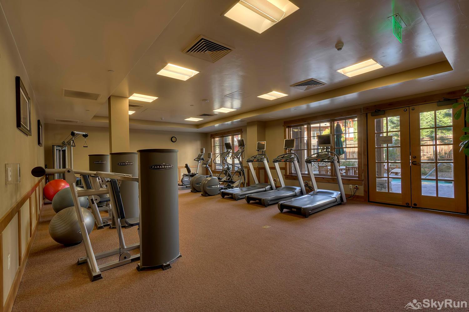 Sierra Range Northstar Lodge Luxury Condo Fitness Center