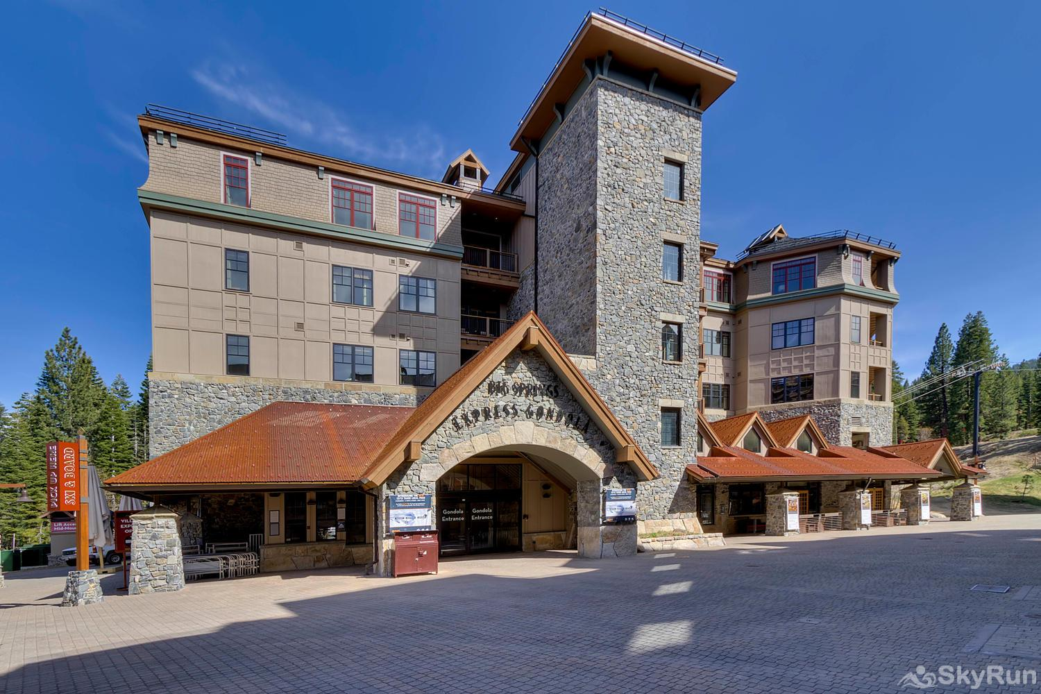 Sierra Range Northstar Lodge Luxury Condo Big Springs Express Gondola