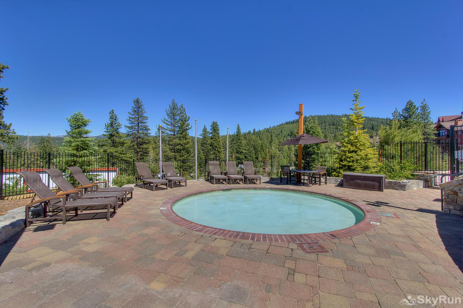Sierra Range Northstar Lodge Luxury Condo Village Swim and Fitness Center