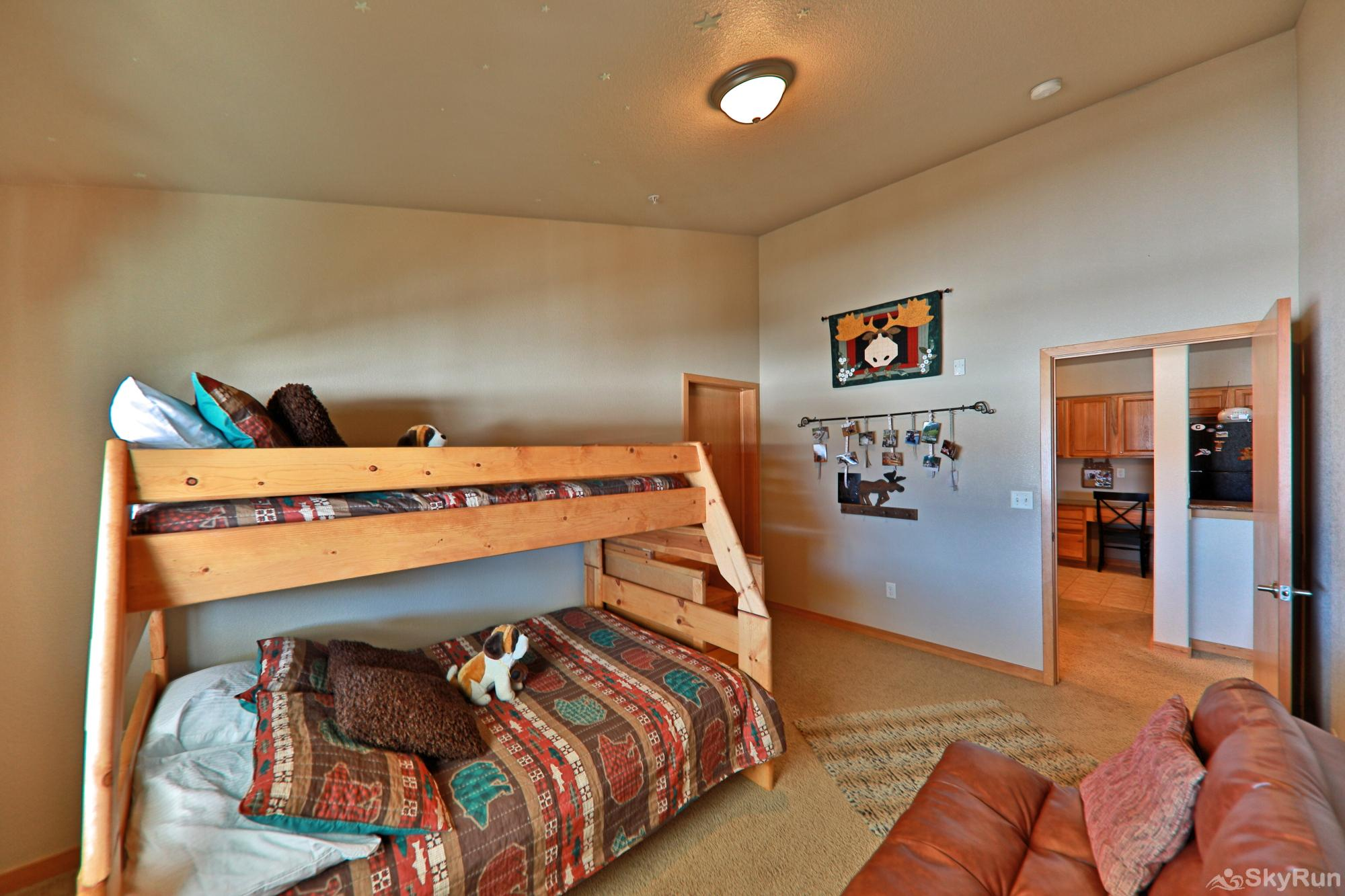 Sterling Point Bedroom with twin over full and Futon