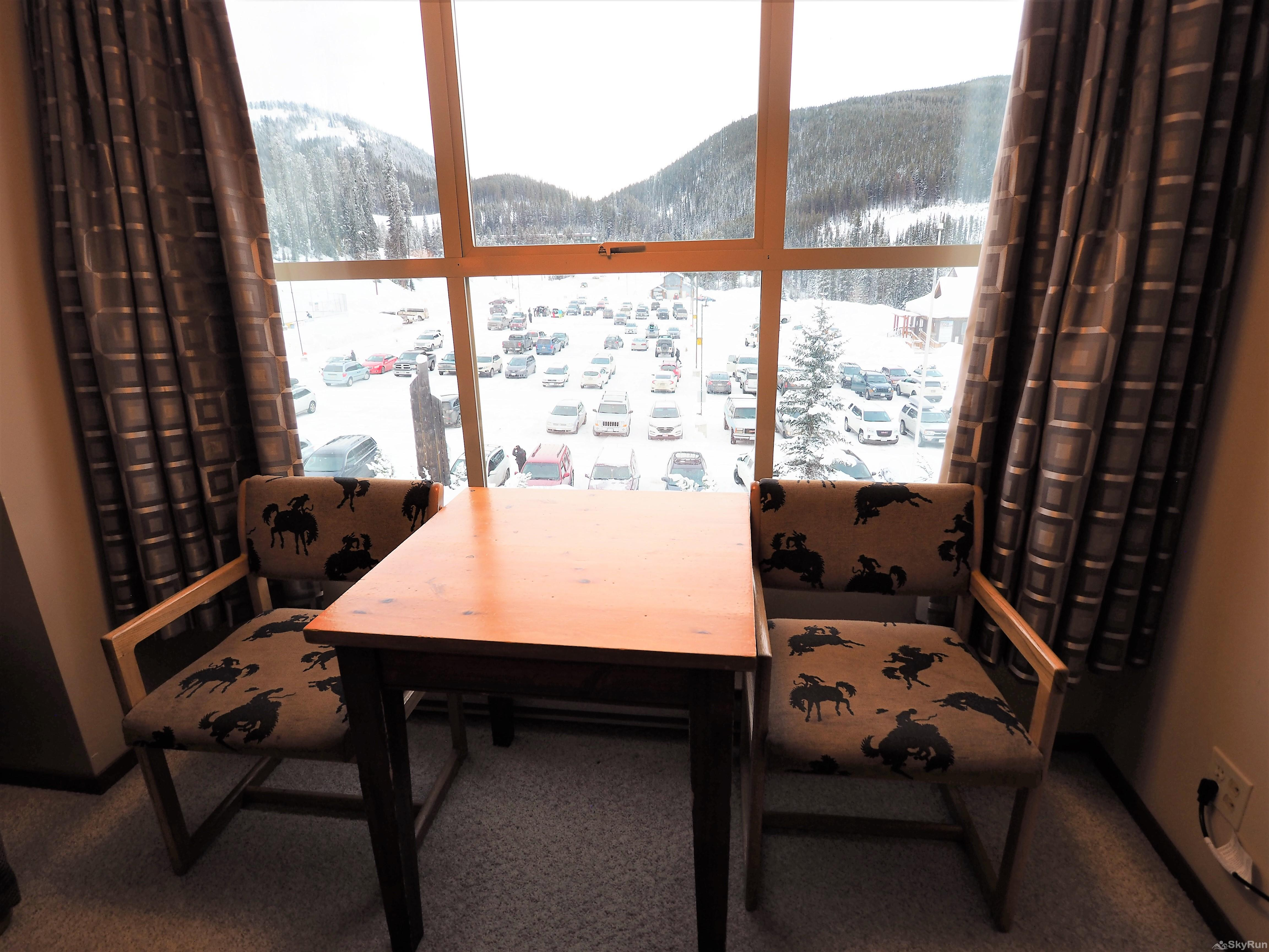 Apex Mountain Inn Standard Room 305 View from the Room