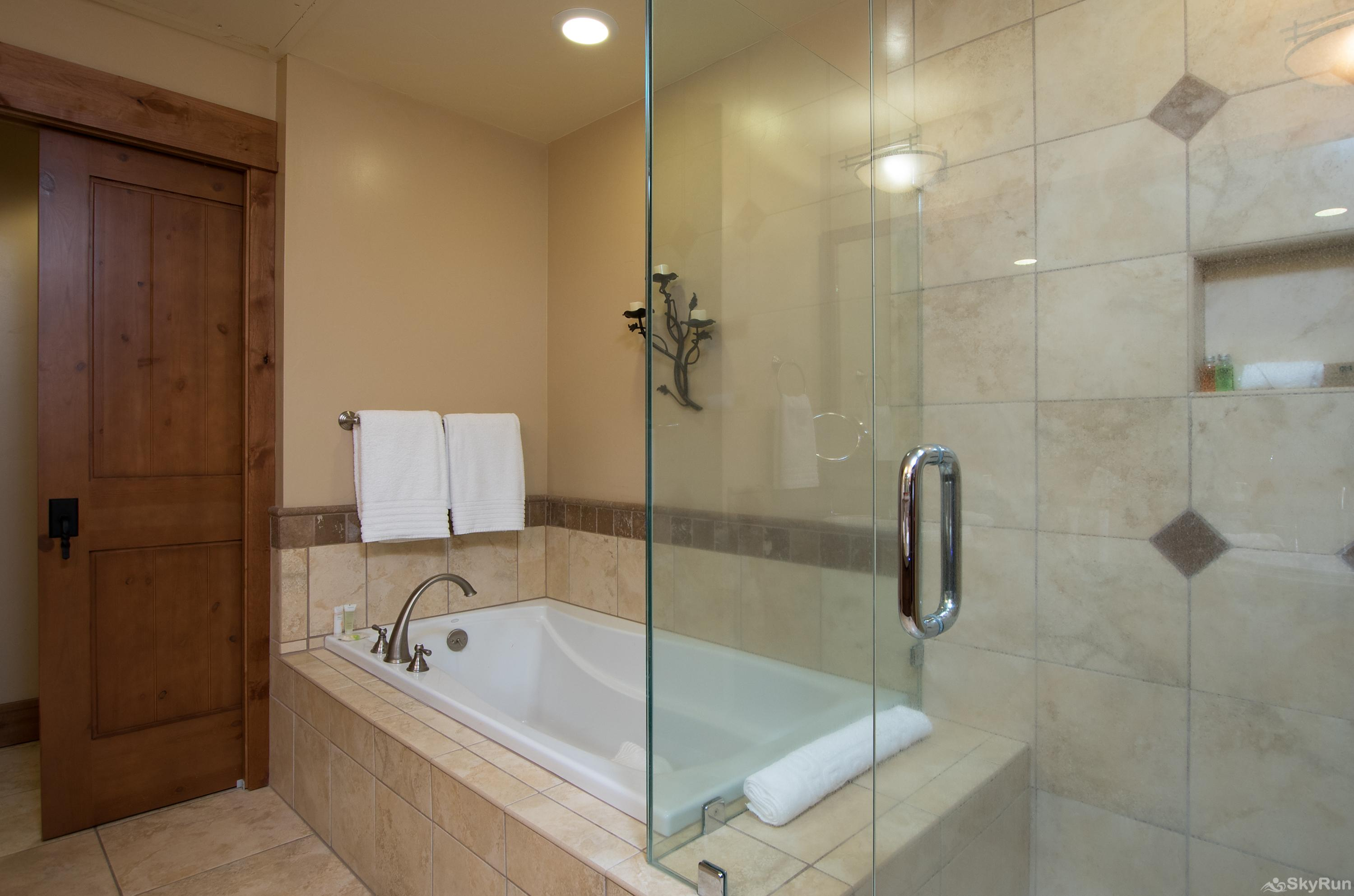 Catamount 306 - In the Heart of Northstar Resort Master King Suite Luxury Bathroom