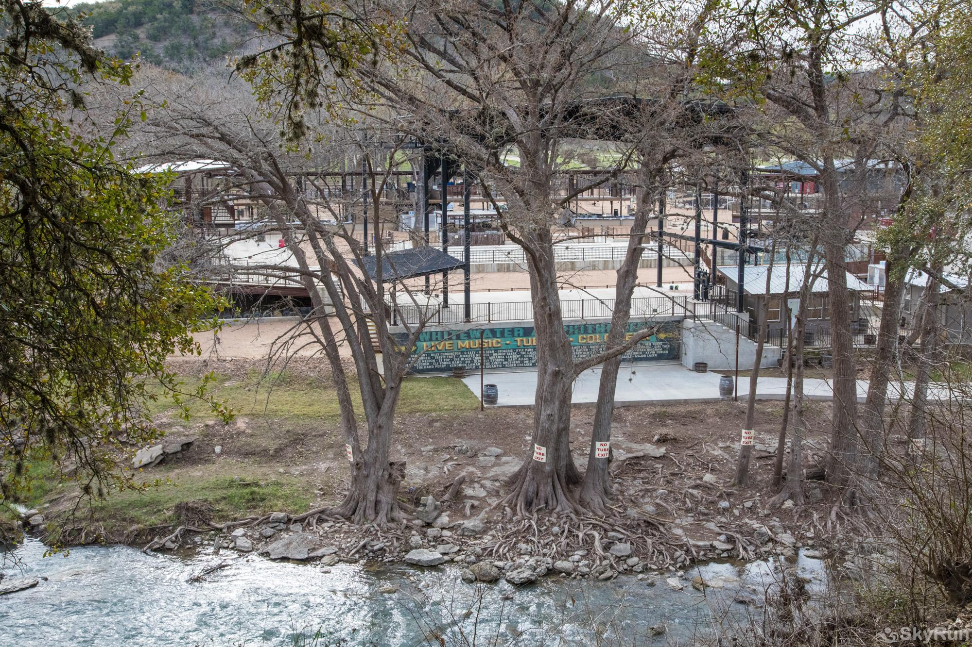 HONEY HAUS ON THE HORSESHOE Whitewater Amphitheater Across the Guadalupe