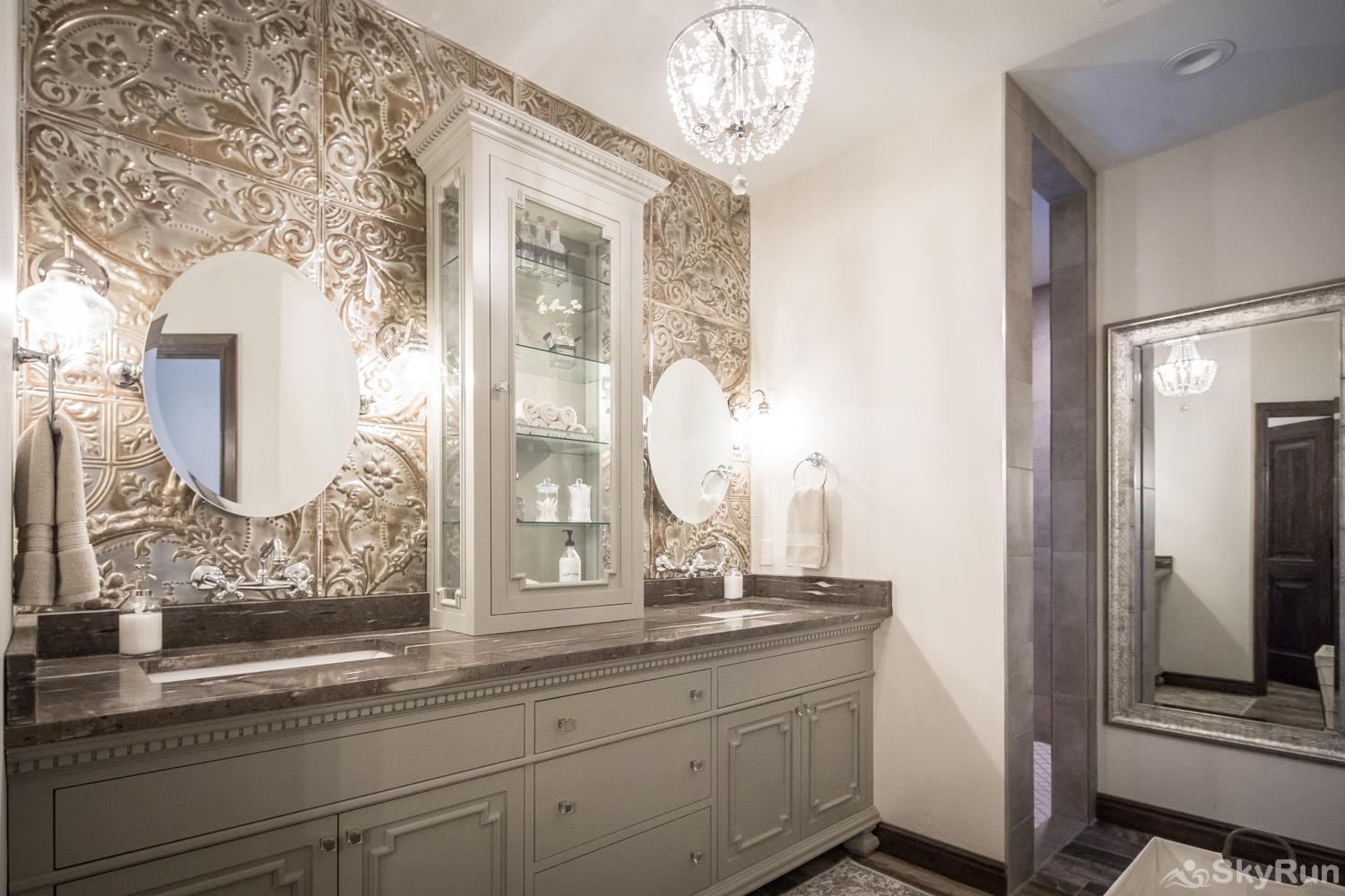 MAGNOLIA HAUS Gorgeous Master Bathroom