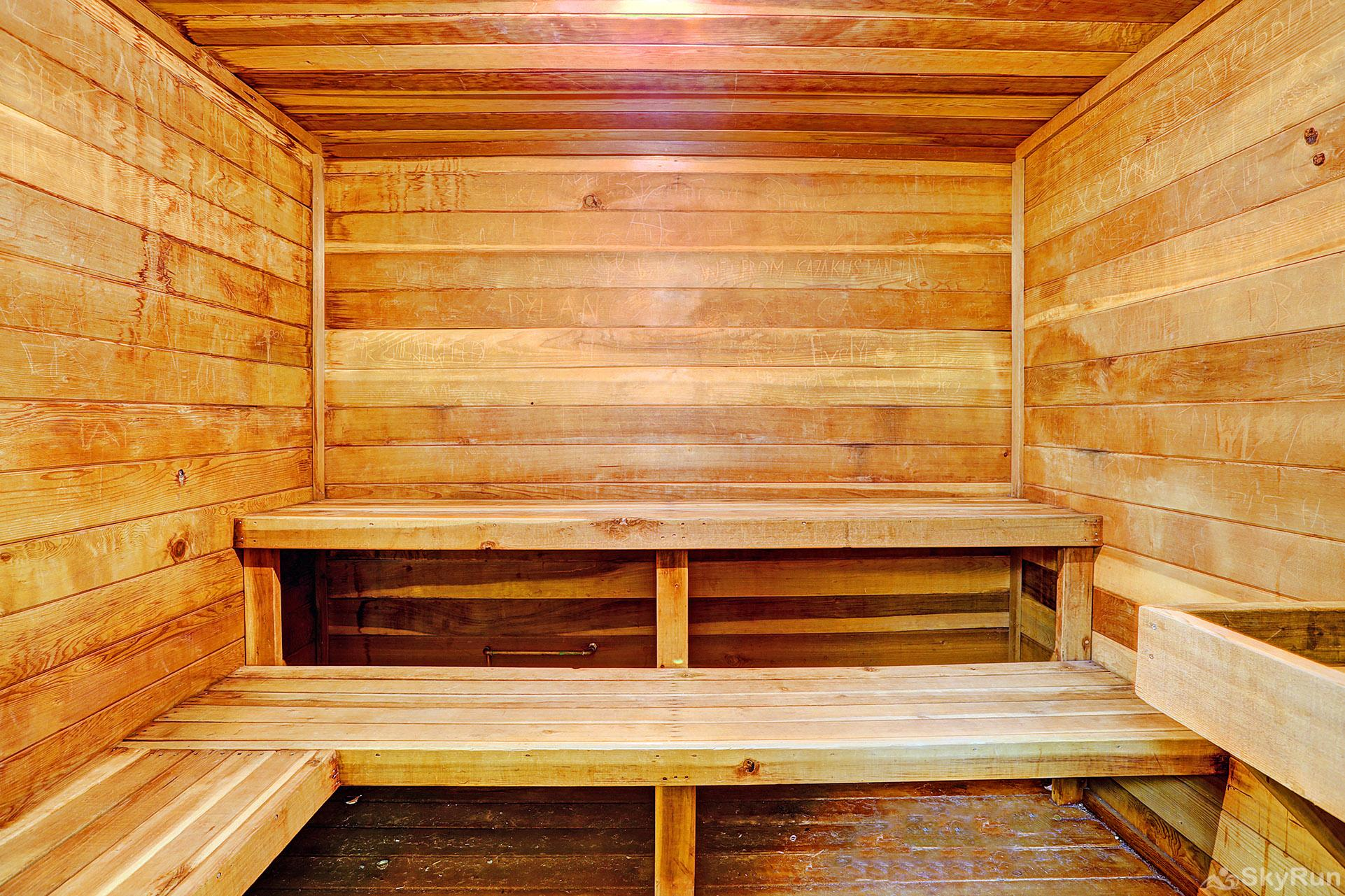 Ski and Racquet Club B106 Warm up and break a sweat in the community clubhouse sauna