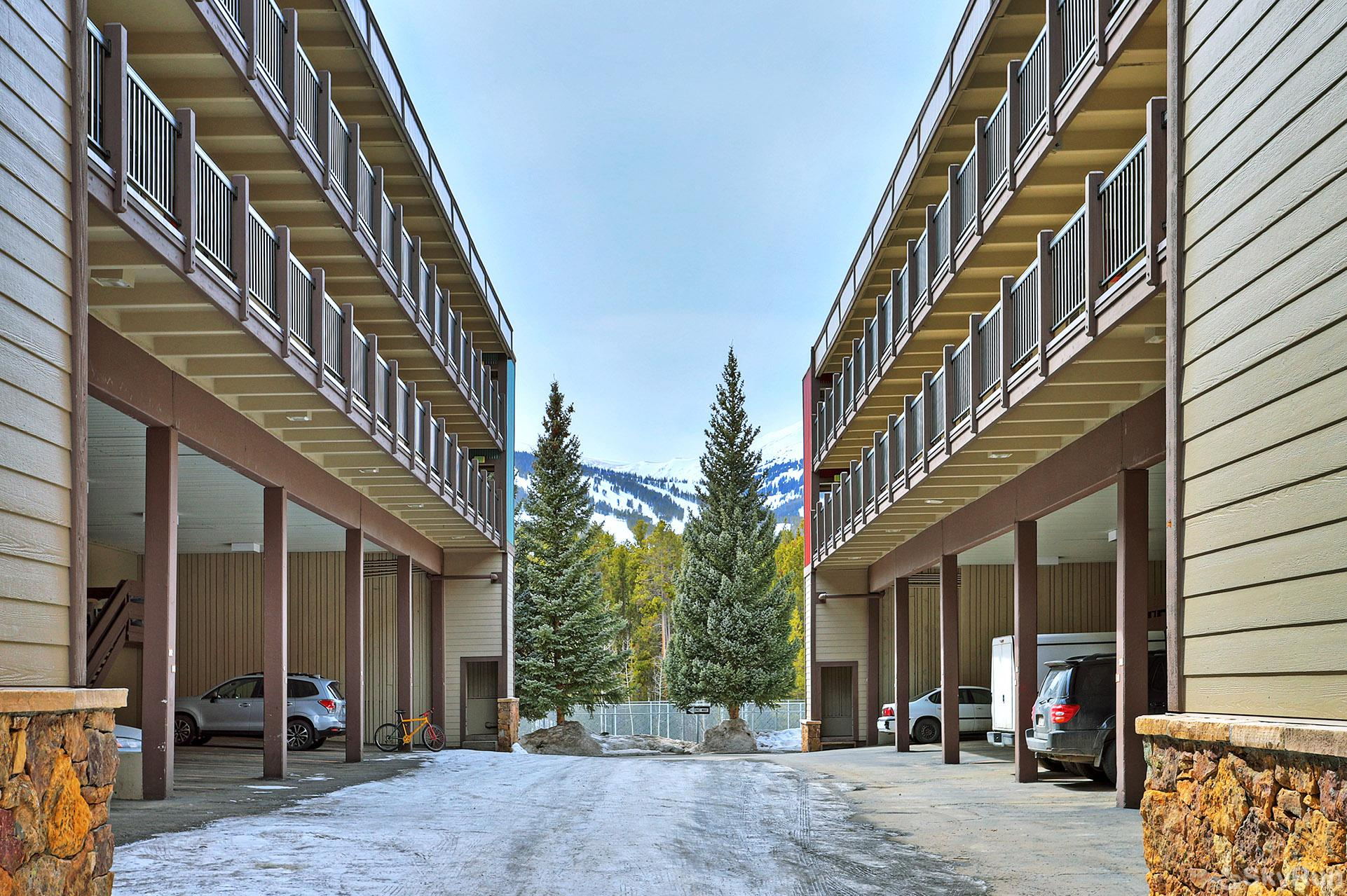 Ski and Racquet Club B106 Parking for 2 vehicles