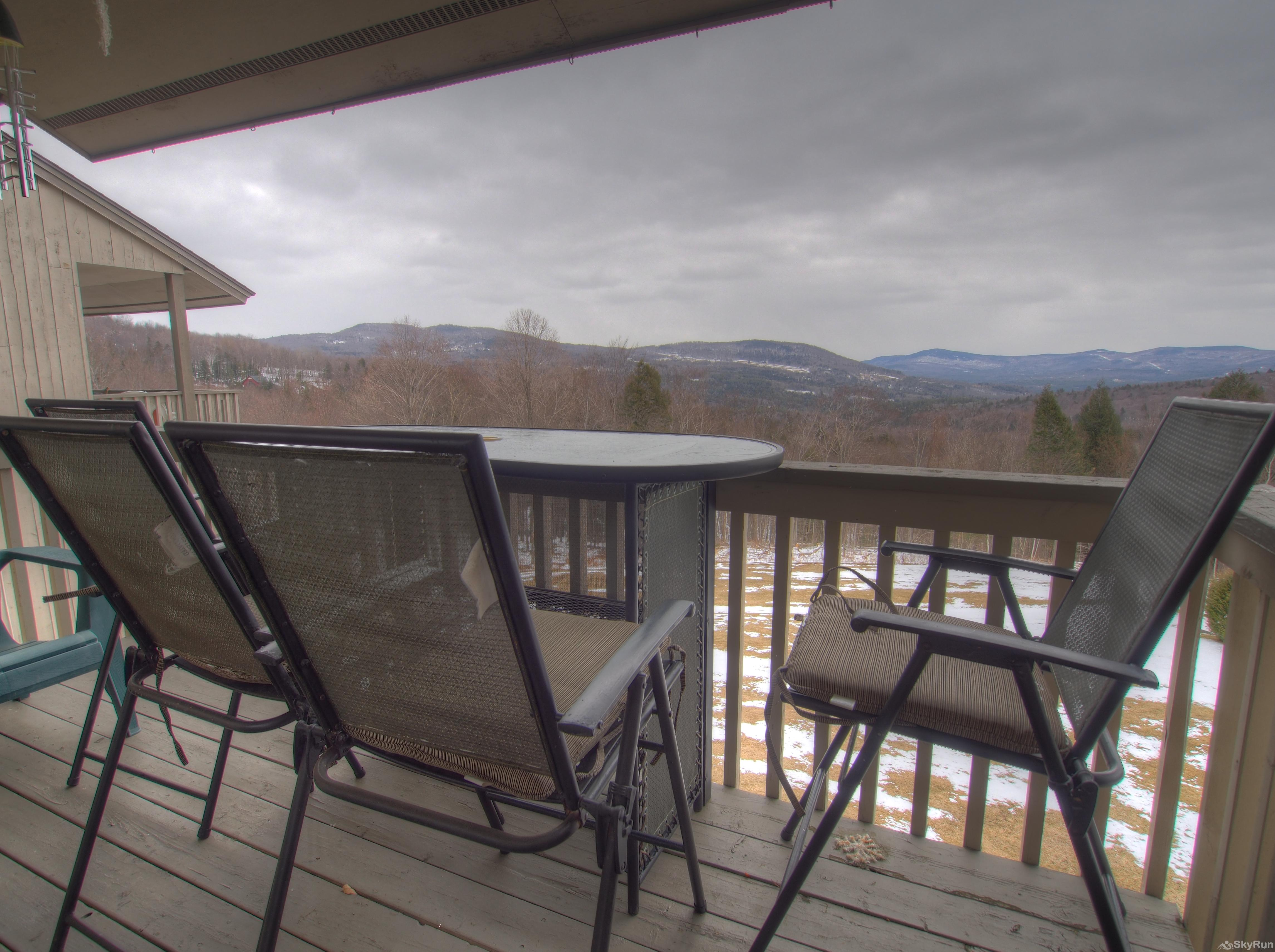 14 Snowside Deck views