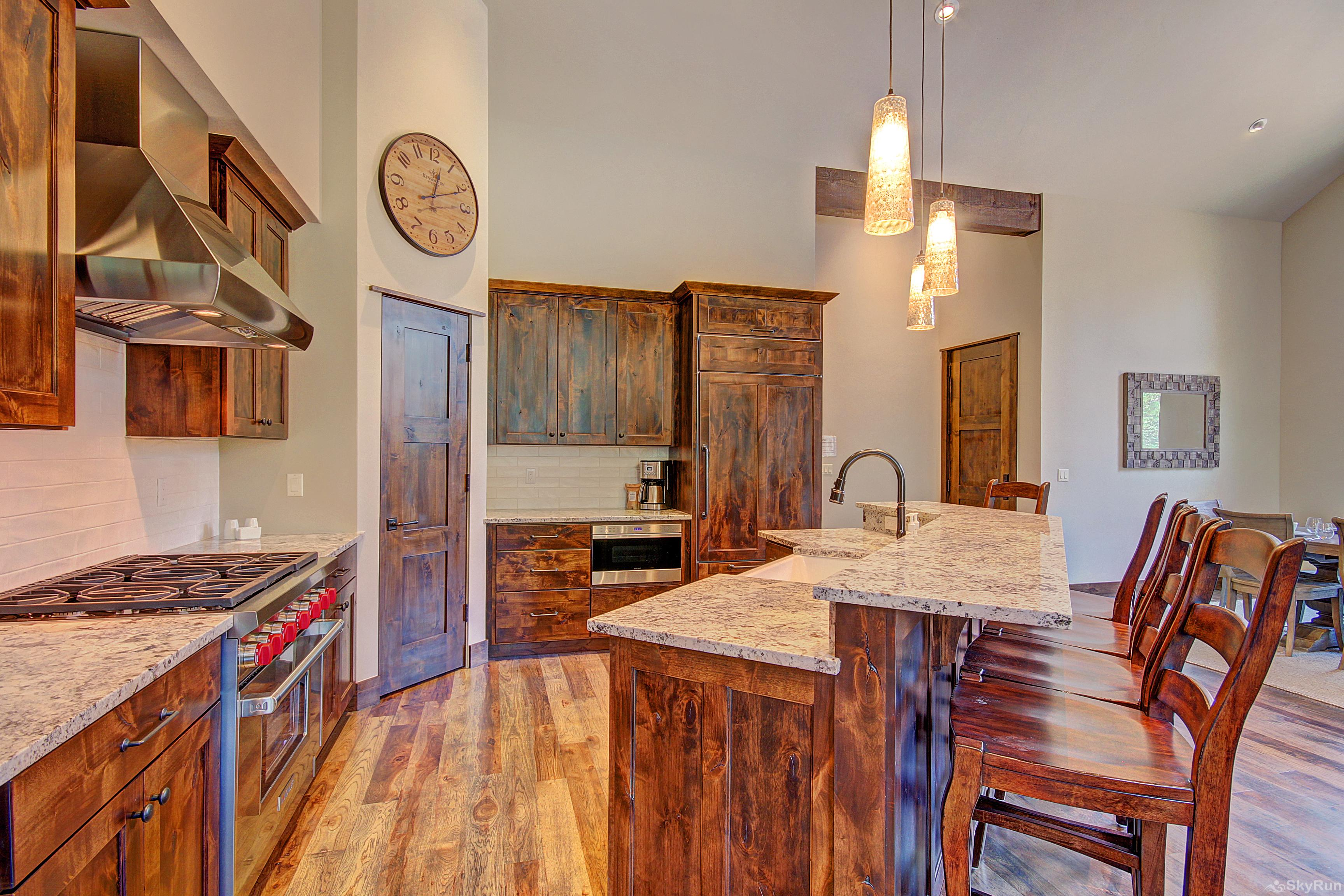 River's Edge Retreat Fully equipped kitchen with premium stainless appliances