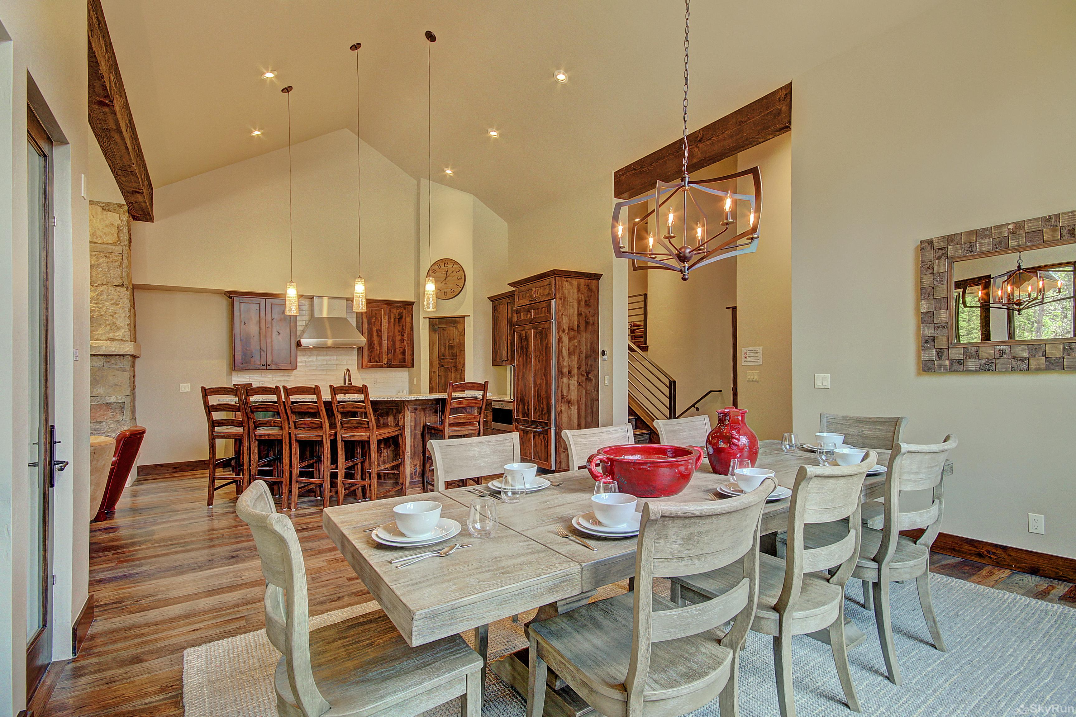 River's Edge Retreat Open floor plan conducive for socializing