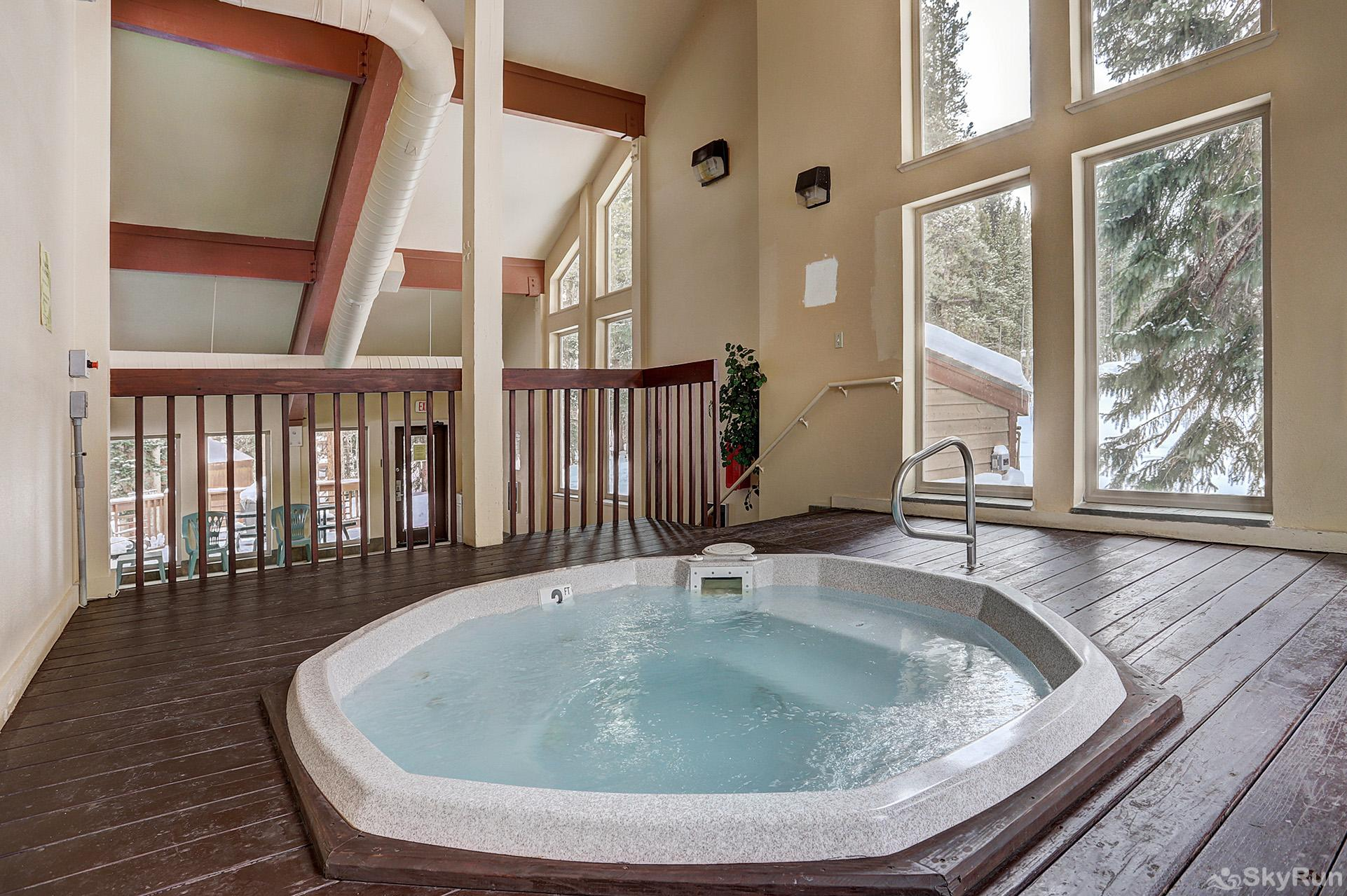 Tyra Summit A2A Additional hot tub indoors