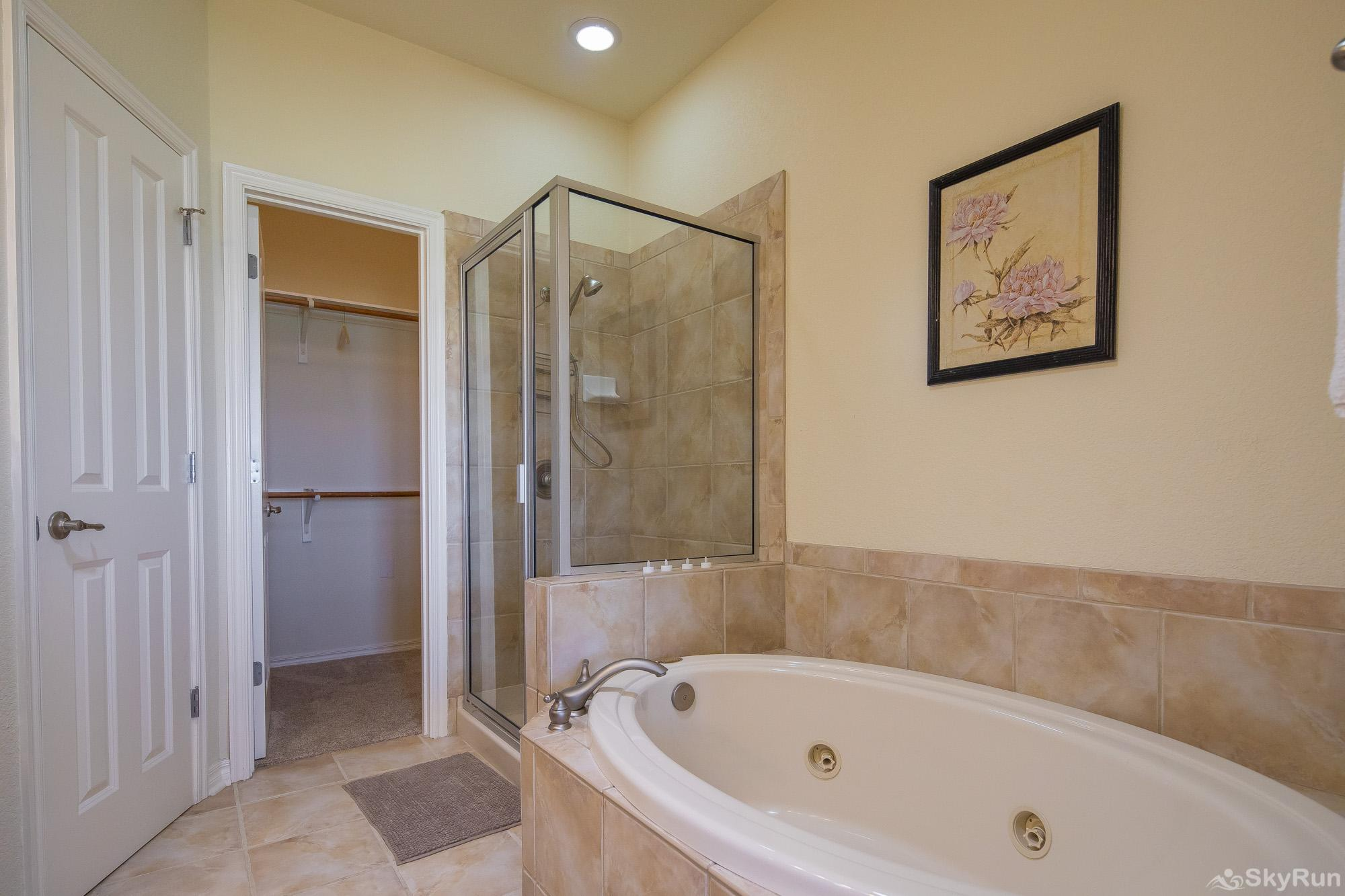 LAKESIDE HAVEN Master Bathroom, cont.