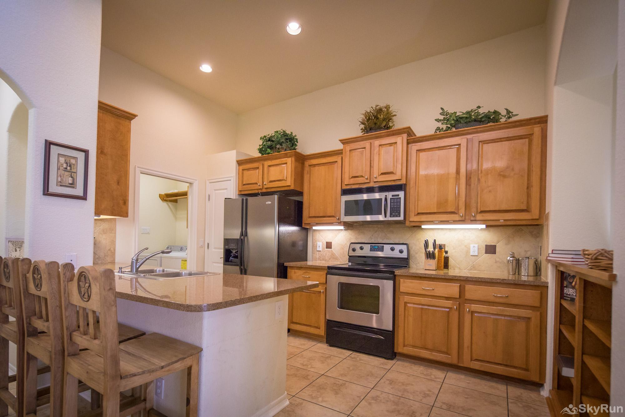LAKESIDE HAVEN Fully Equipped Kitchen