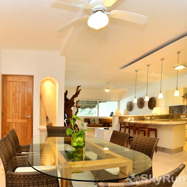 Beachfront  Villa 3 bedroom Tulum area Resort Style SkyRun Riviera Maya strives to be a leader in culinary indulgence