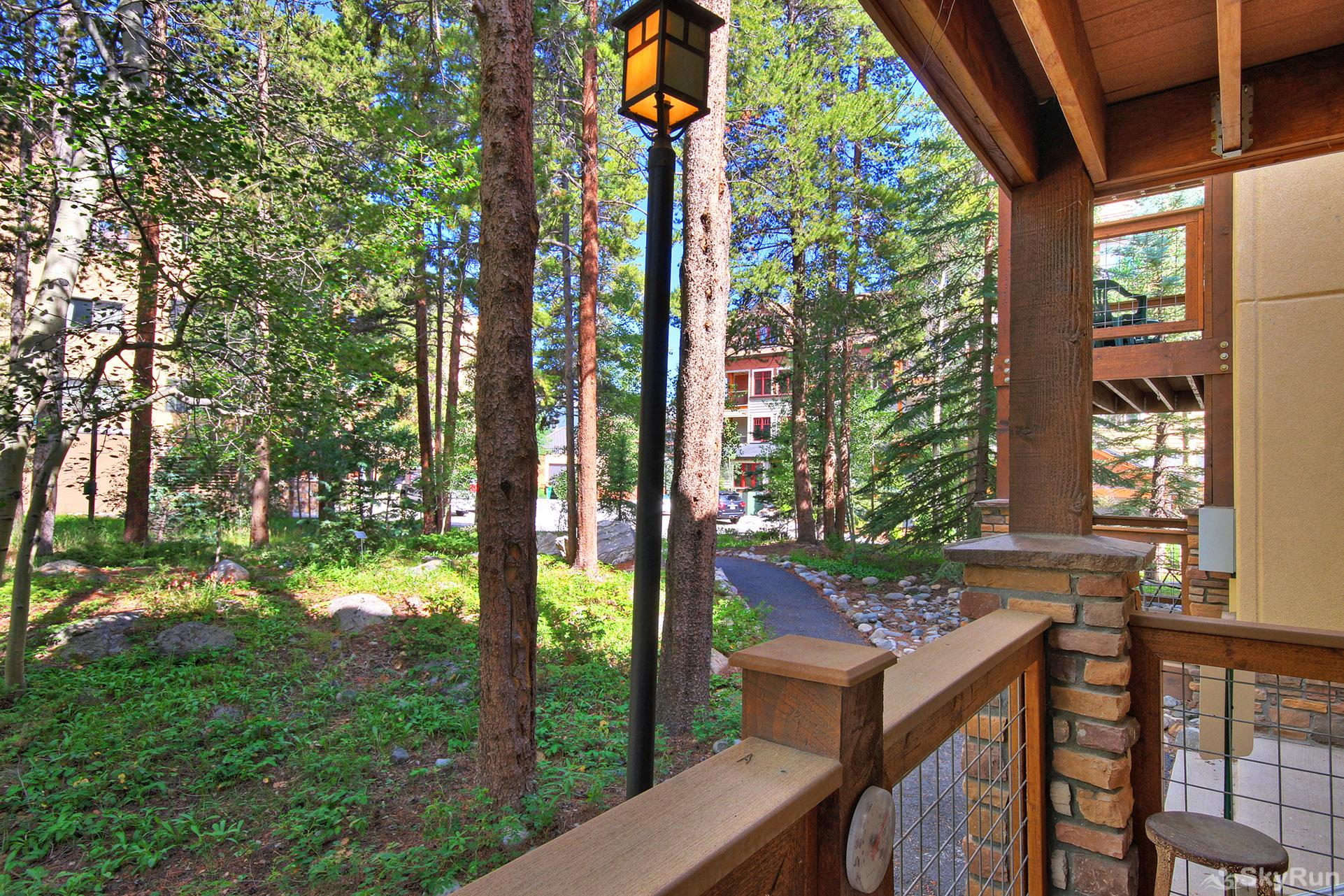Columbine 102 Scenic wooded views right from your deck