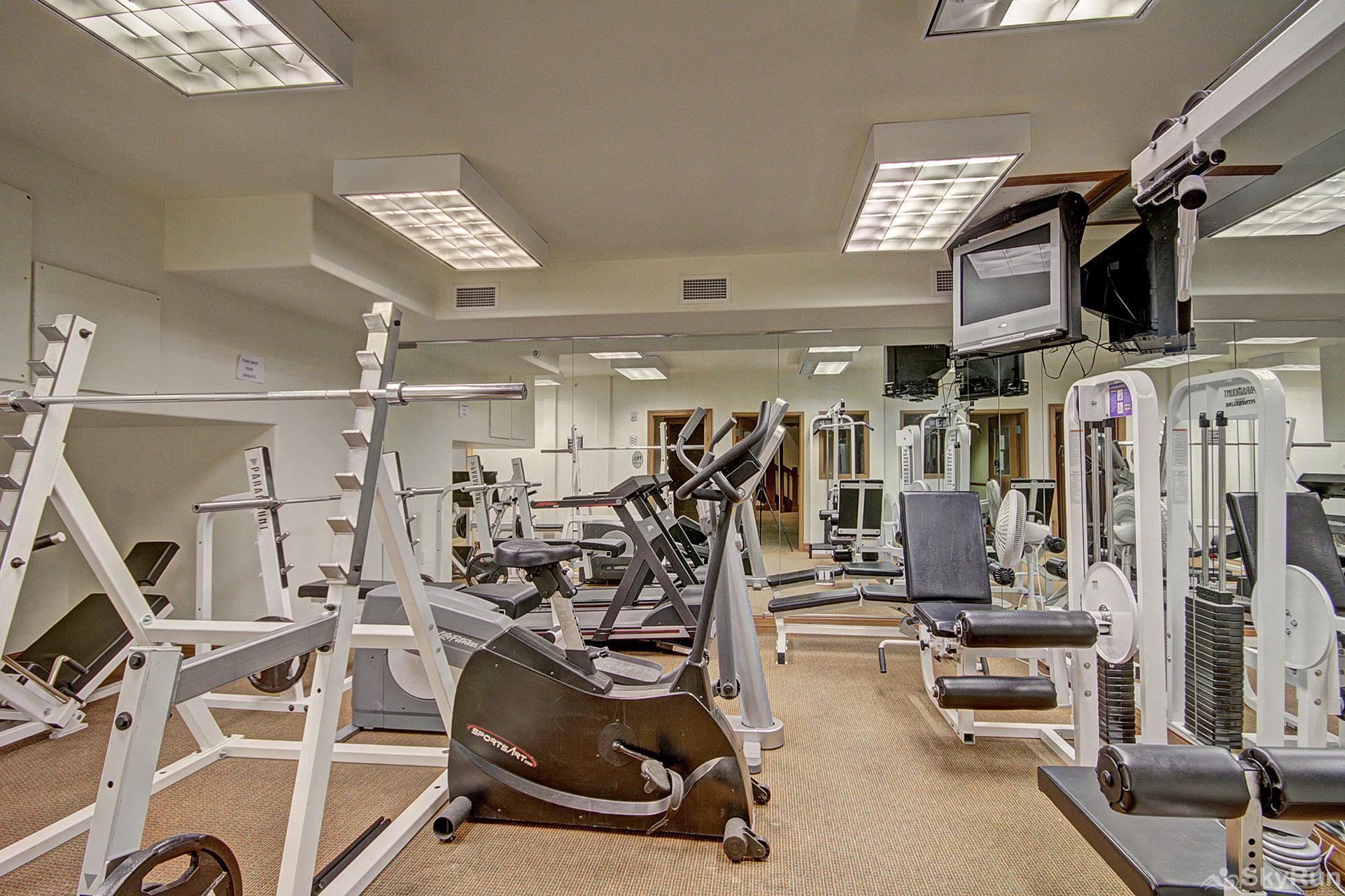 Highland Greens Lodge 305 On-site fitness room